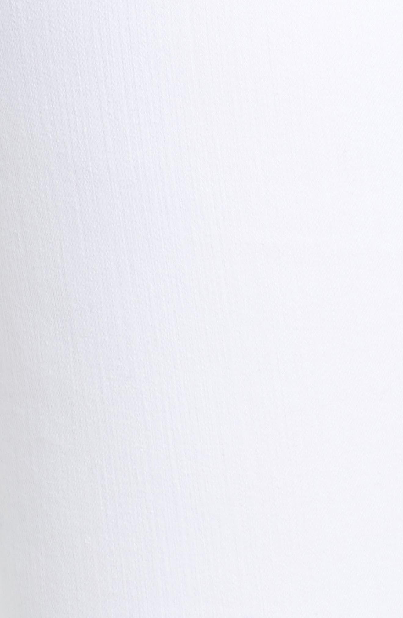 Alternate Image 6  - Caslon® Tie Ankle Skinny Jeans (Plus Size)
