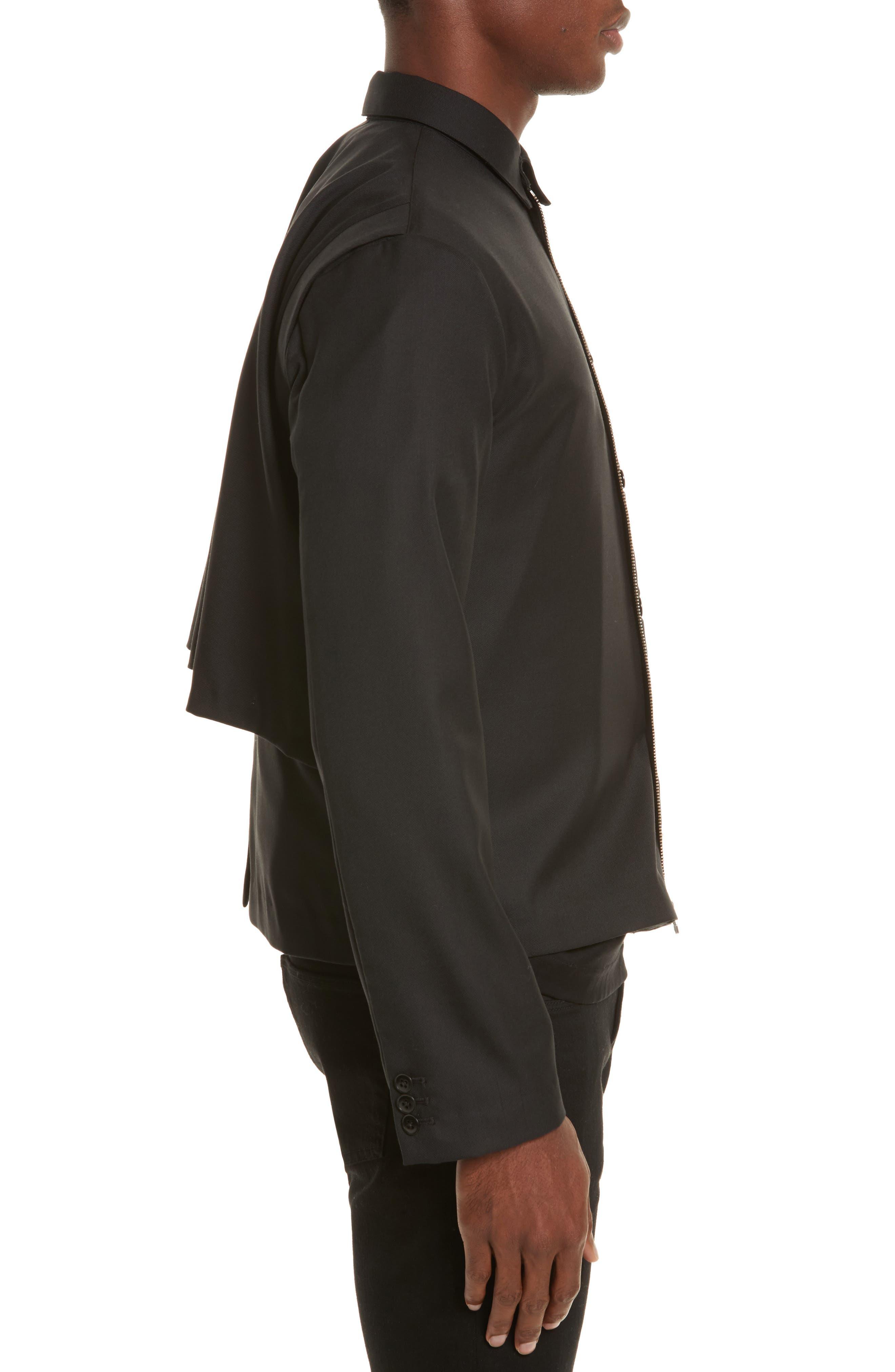 Expandable Jacket,                             Alternate thumbnail 3, color,                             Black