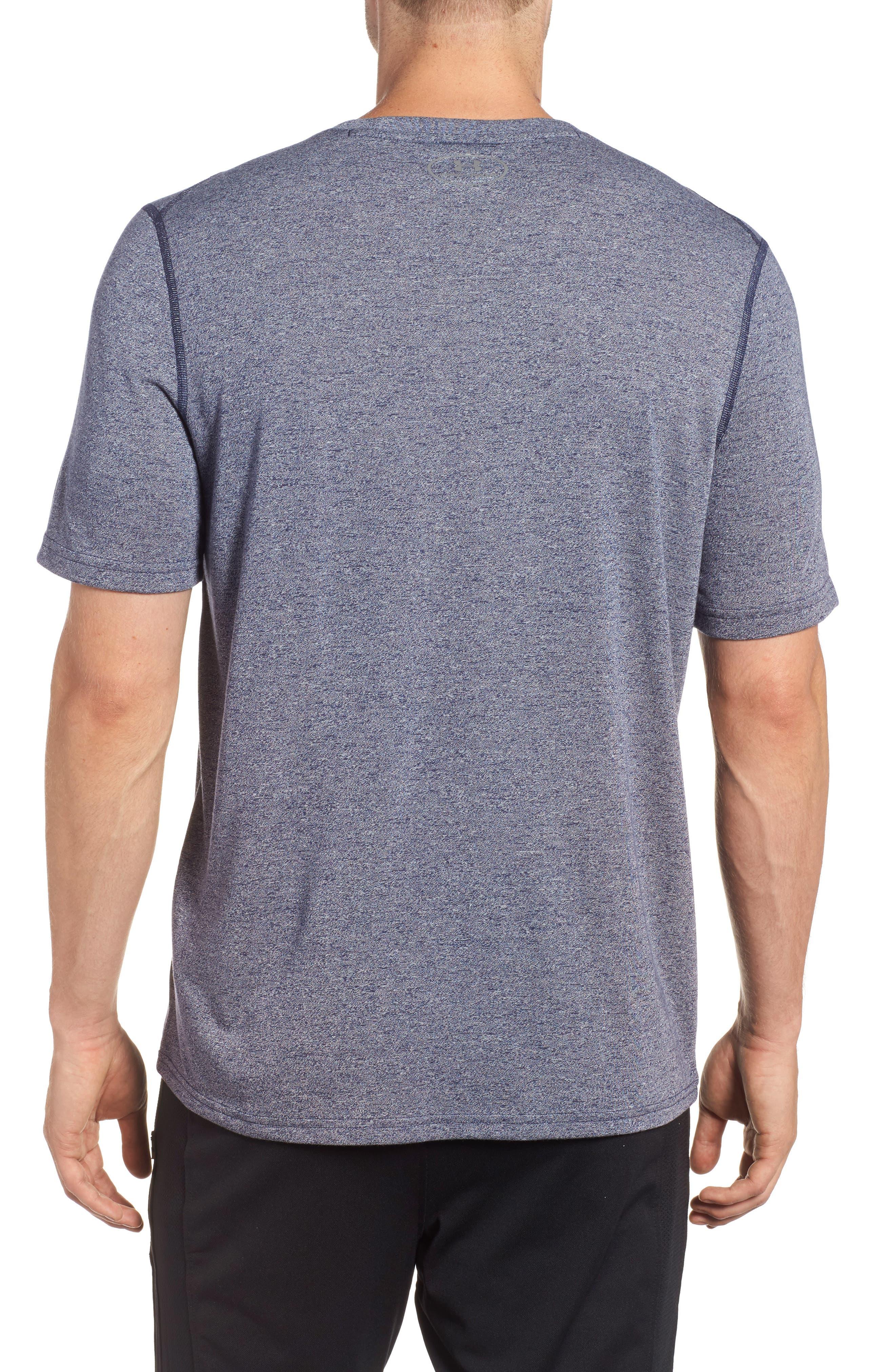 Regular Fit Threadborne T-Shirt,                             Alternate thumbnail 5, color,                             Midnight