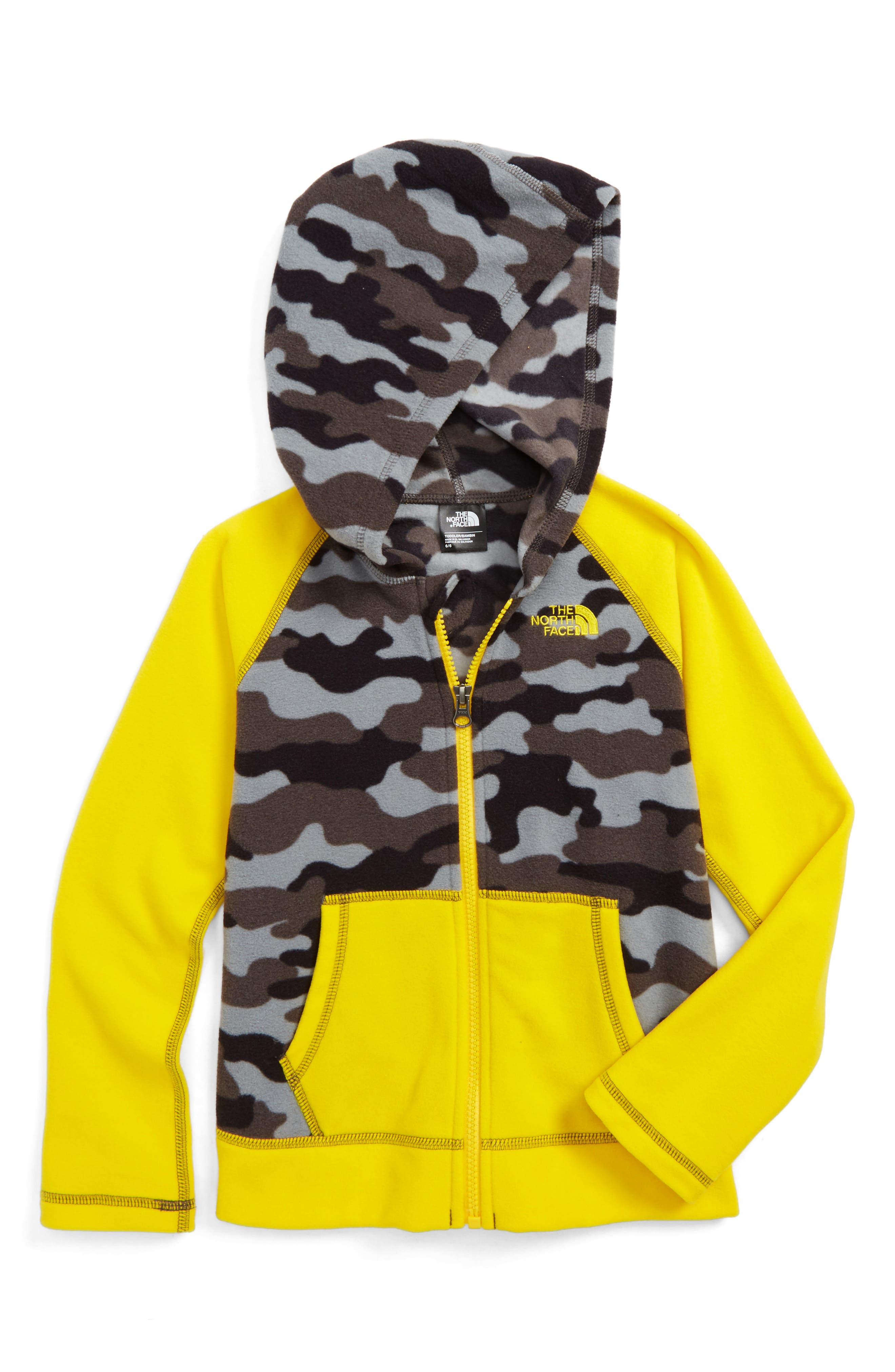 Alternate Image 1 Selected - The North Face Glacier Zip Hoodie (Toddler Boys & Little Boys)