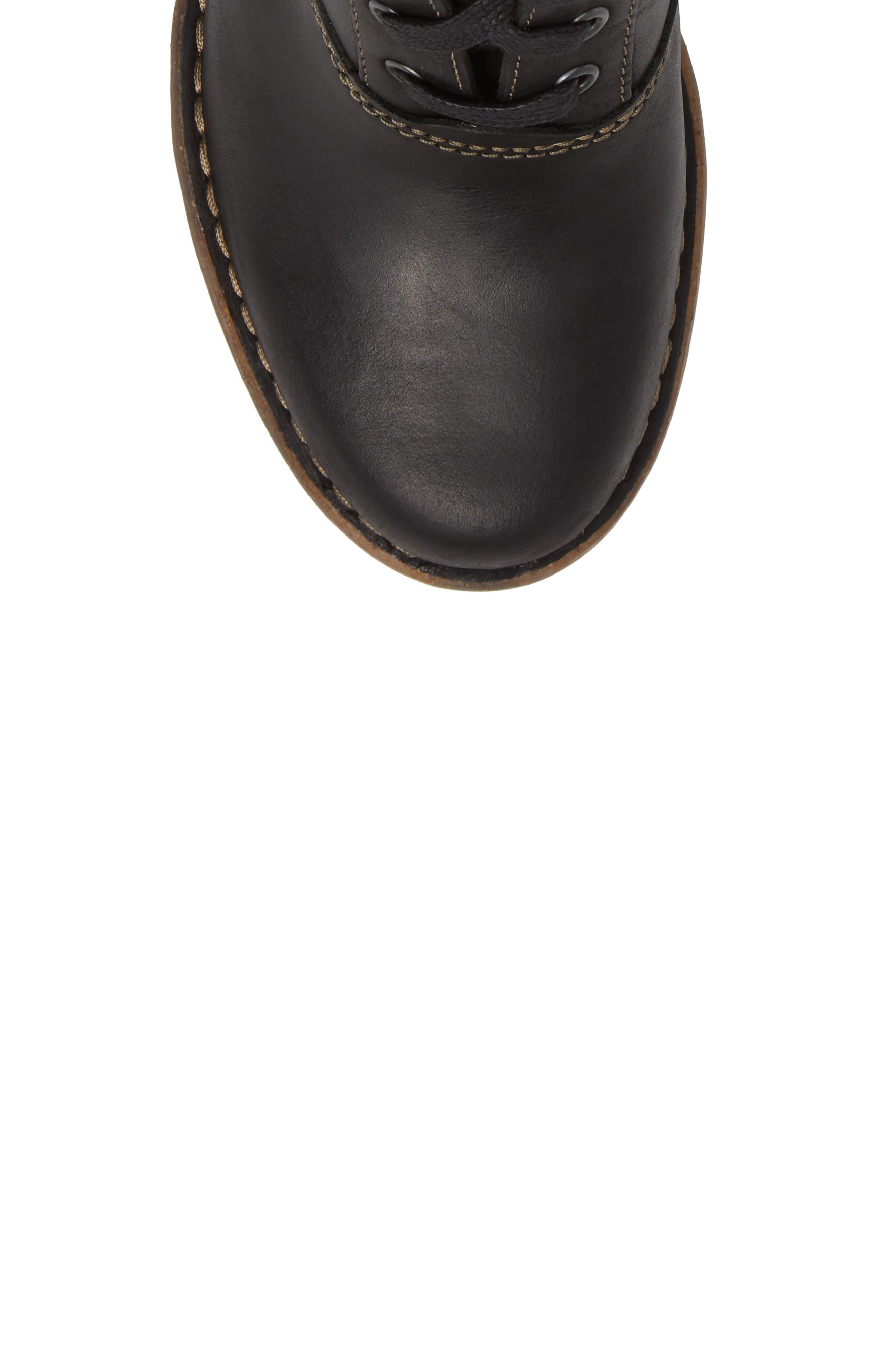 Alternate Image 5  - Clarks® Carleta Plush Cuff Bootie (Women)