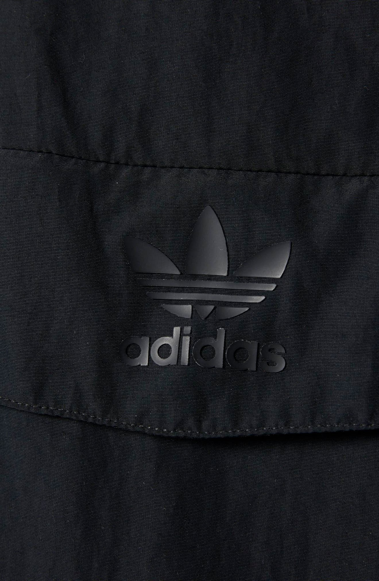 Alternate Image 4  - adidas Originals Taped Anorak