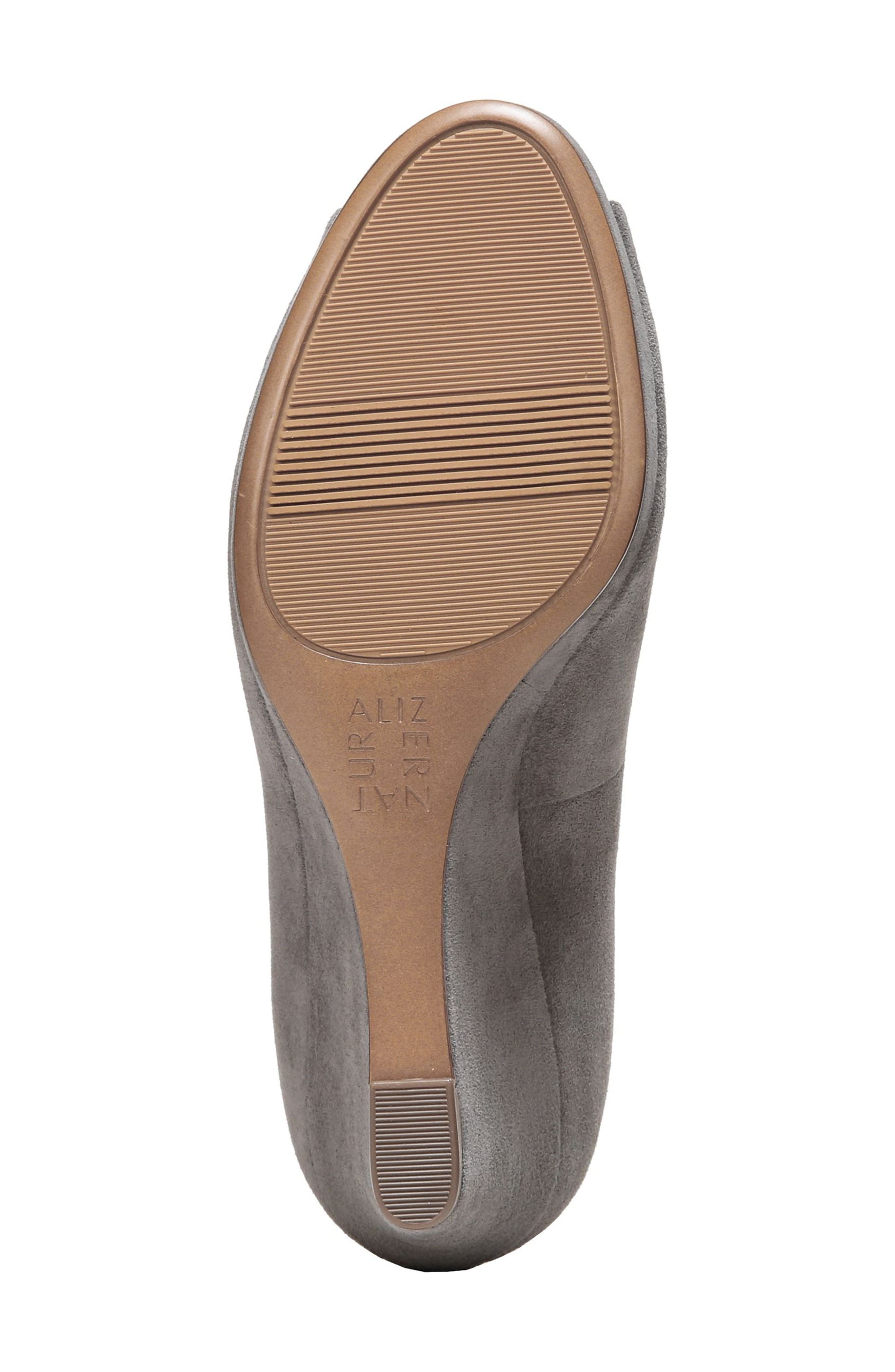 Alternate Image 6  - Naturalizer Olivia Peep Toe Wedge (Women)
