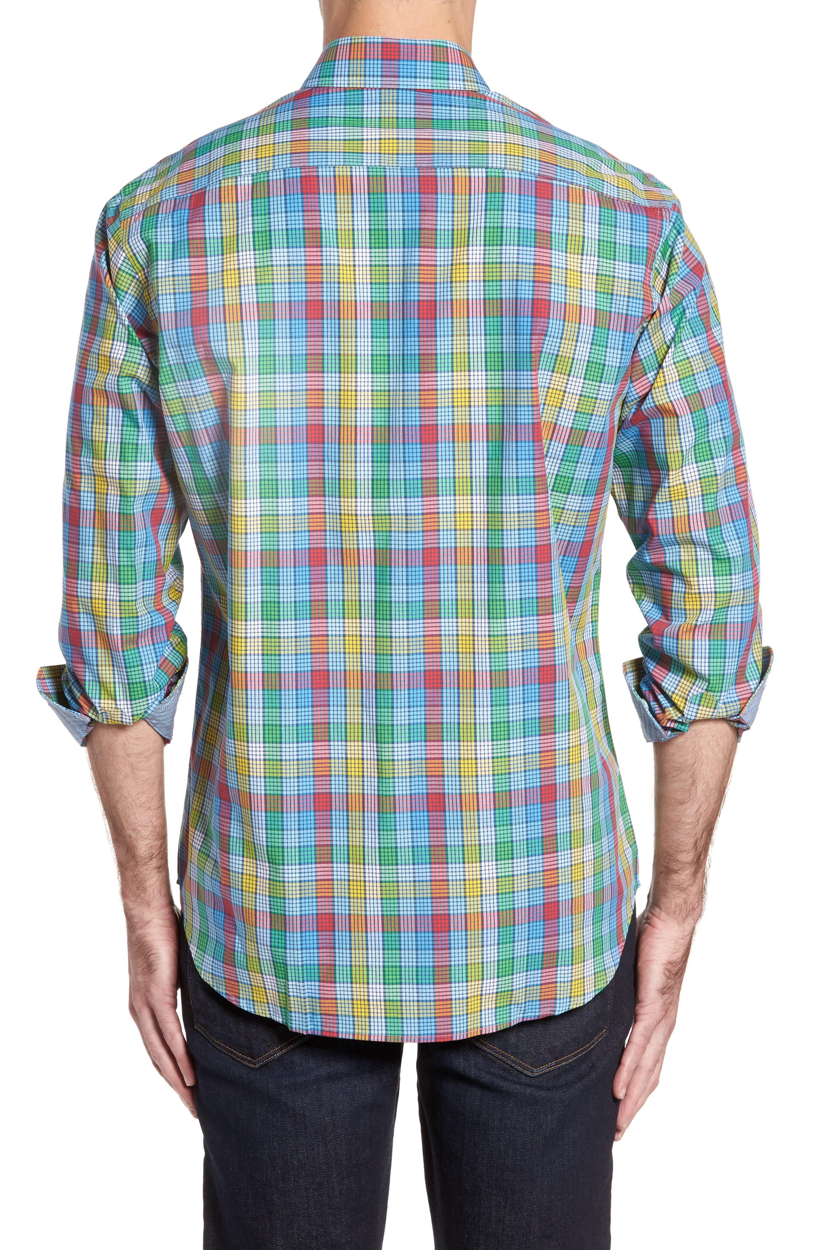 Alternate Image 2  - TailorByrd Belmont Check Sport Shirt