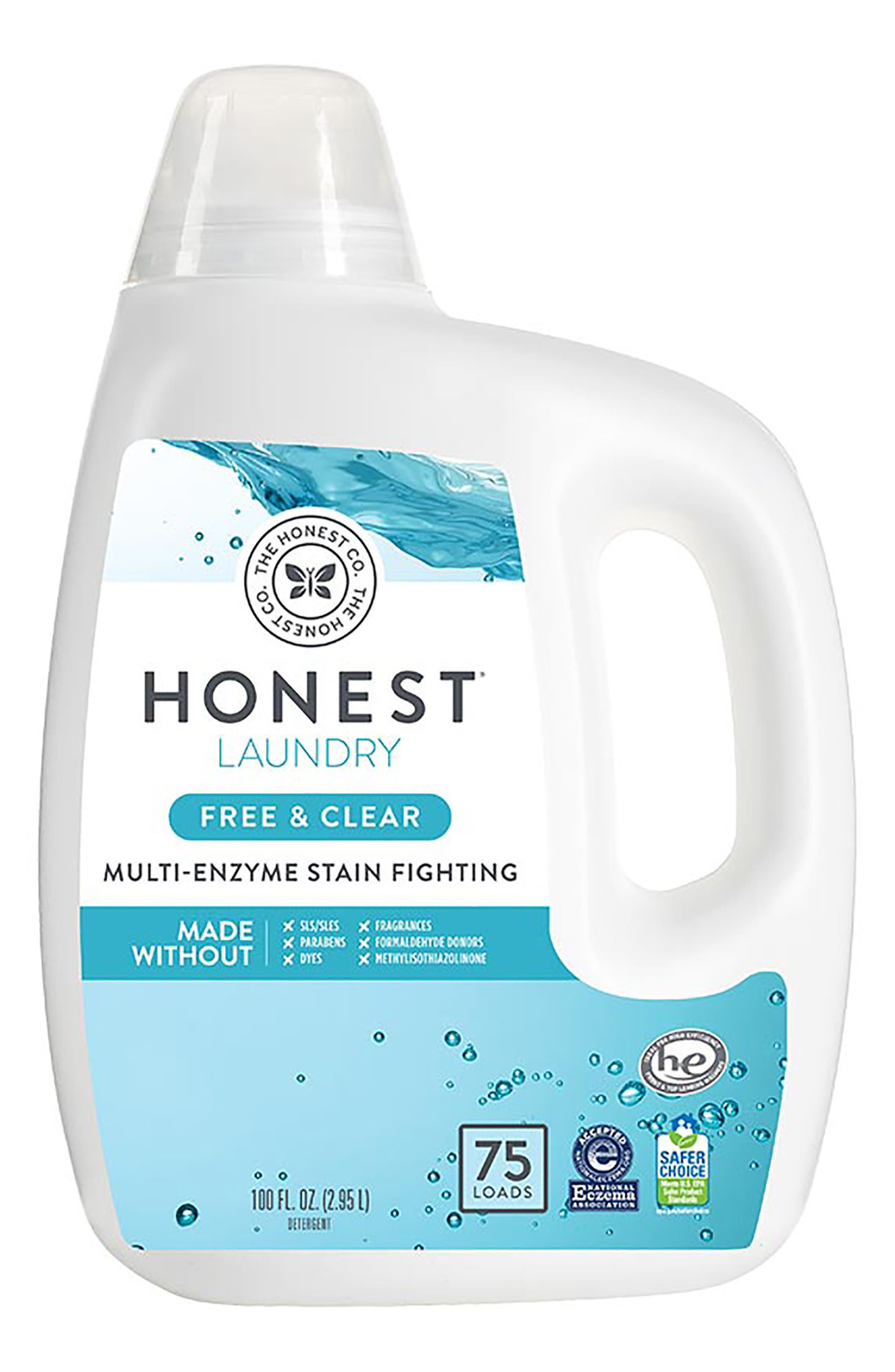 Free & Clear Laundry Detergent,                             Main thumbnail 1, color,                             Free/ Clear