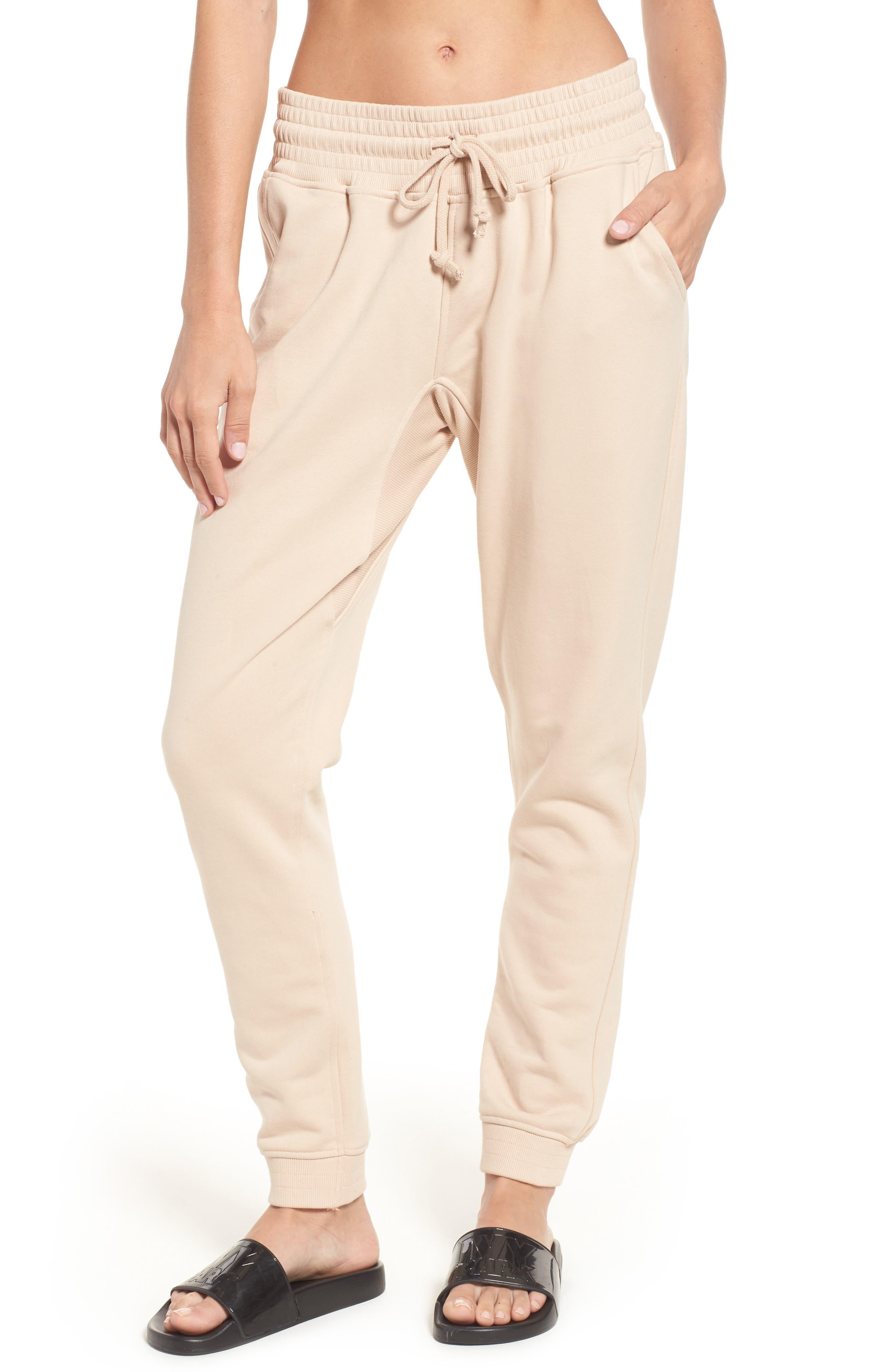 Main Image - IVY PARK® Oversize Washed Jersey Jogger Sweatpants
