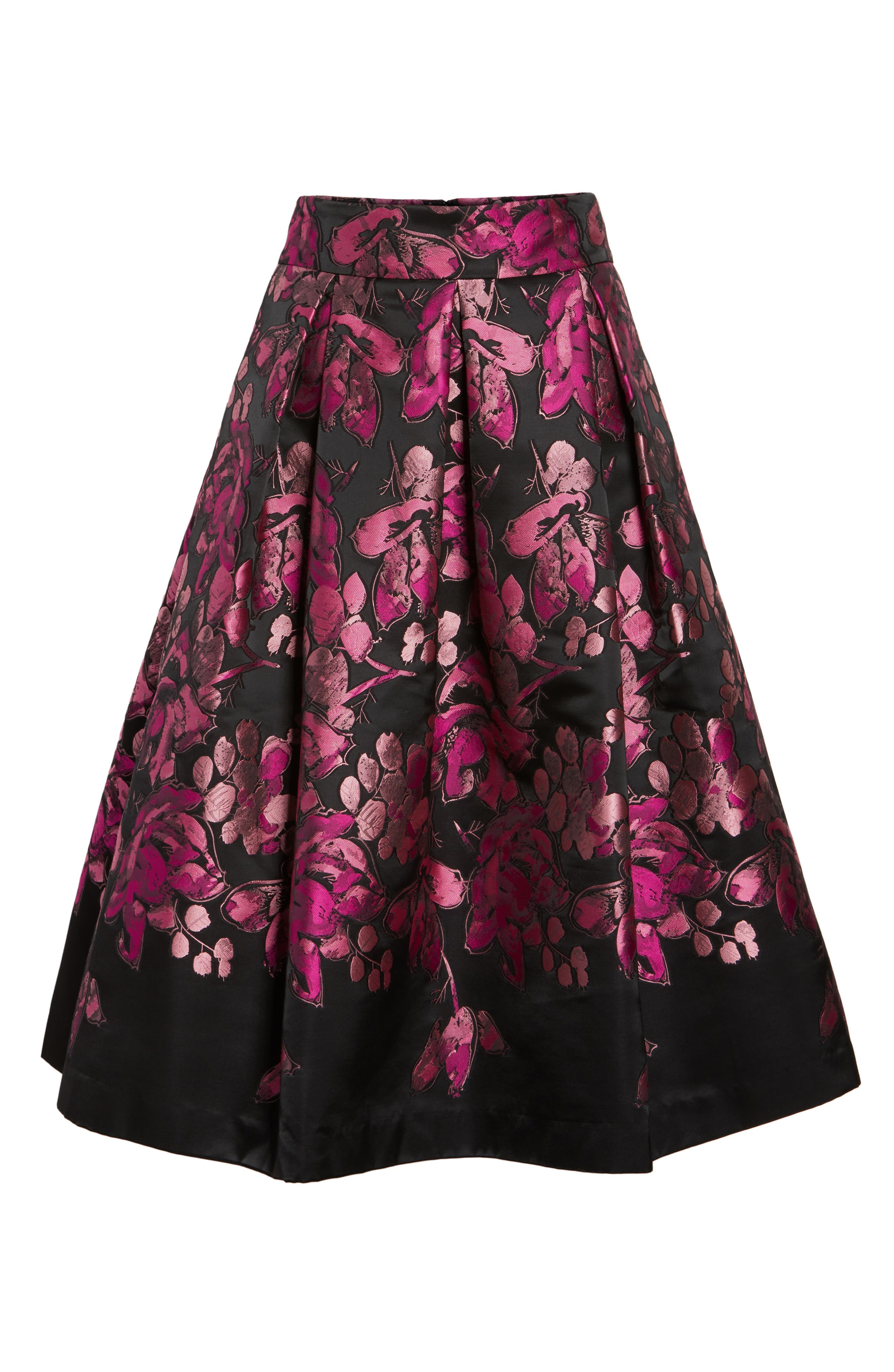 Alternate Image 6  - Eliza J Floral Jacquard Midi Skirt