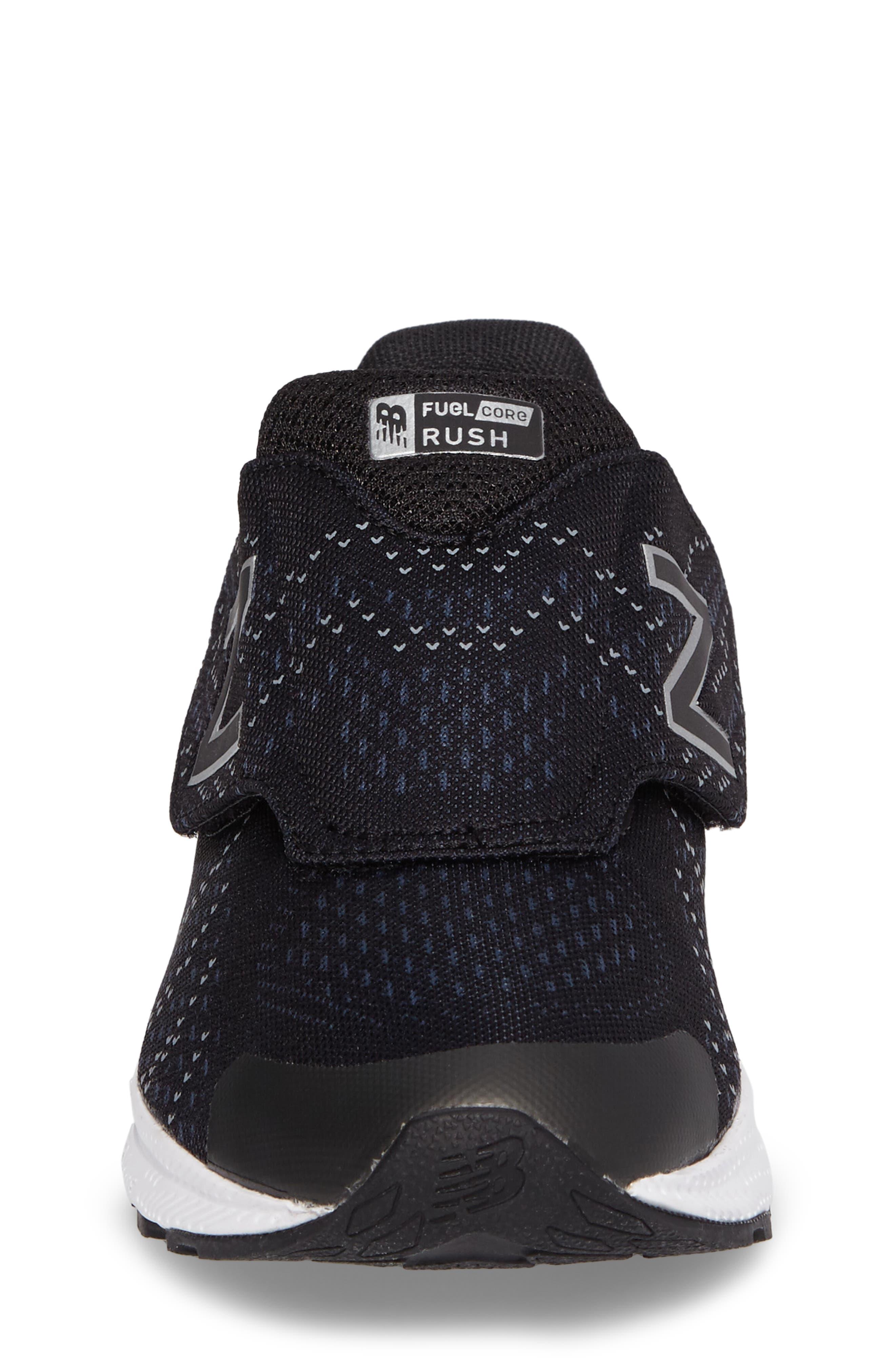 FuelCore Rush v3 Sneaker,                             Alternate thumbnail 4, color,                             Black
