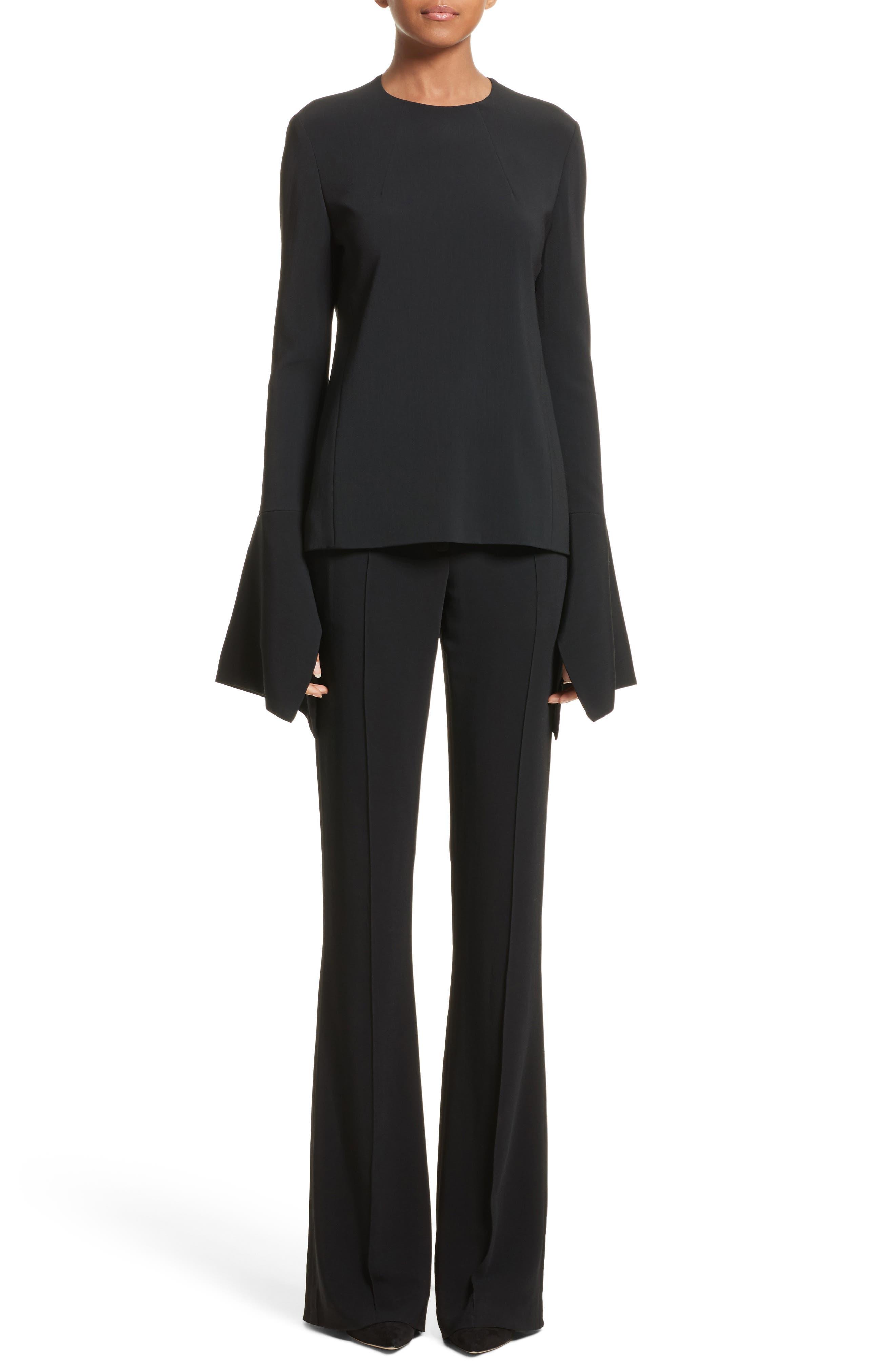 Alternate Image 4  - Victoria Beckham Flare Pants