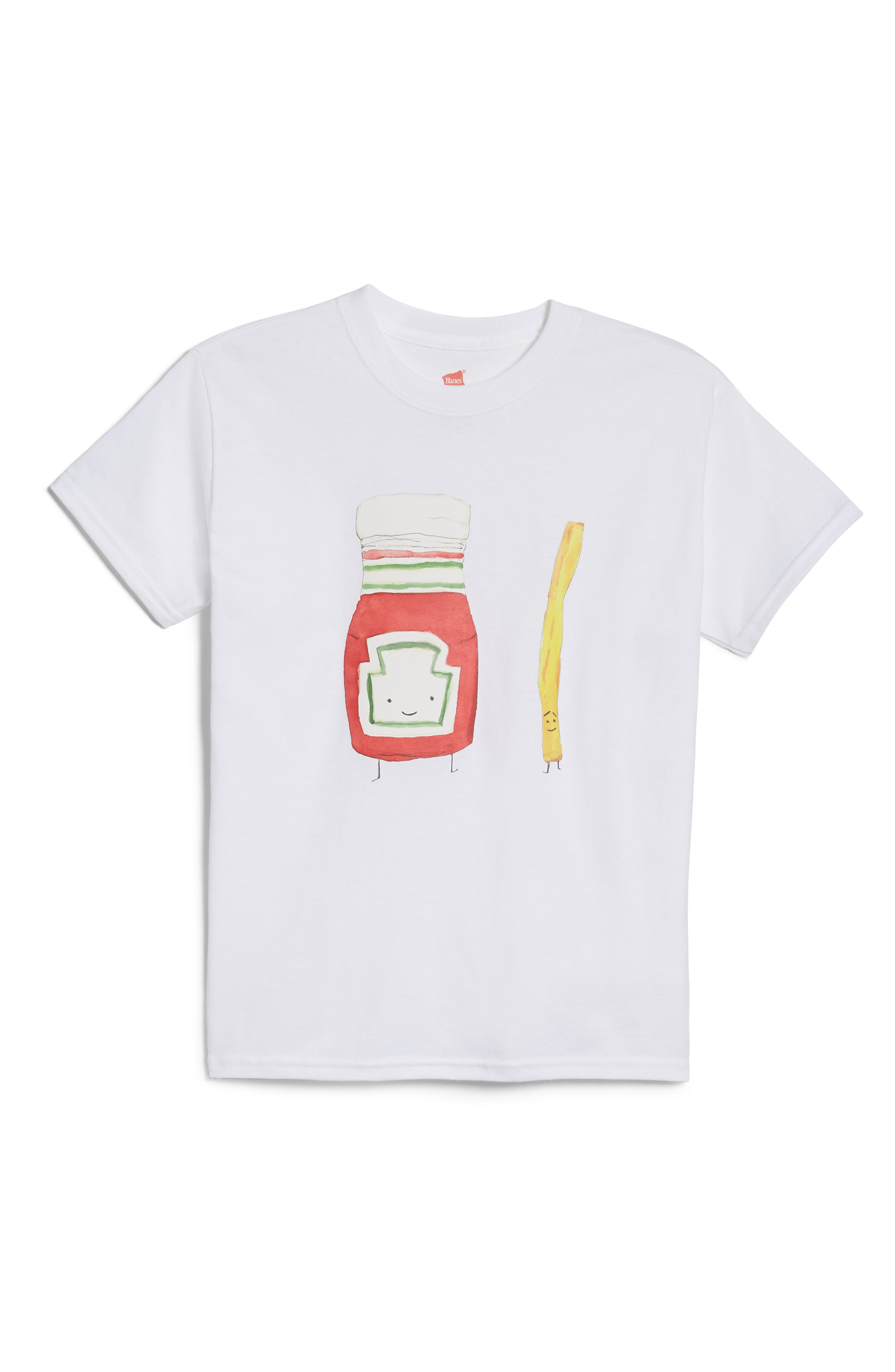 Alessandra Olanow Ketchup & French Fry T-Shirt (Toddler, Little Kid & Big Kid)