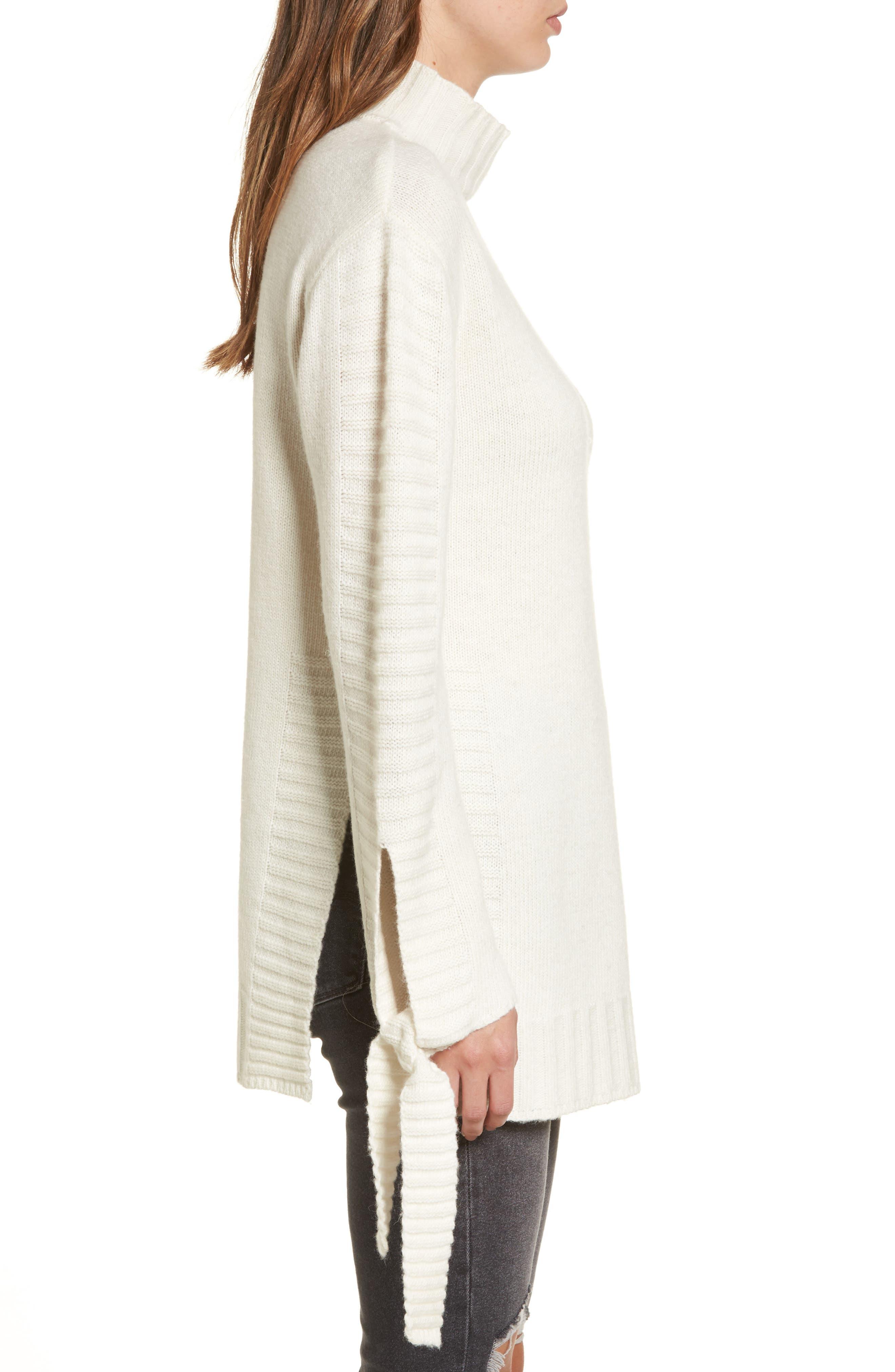 Alternate Image 4  - Moon River Side Slit Sweater