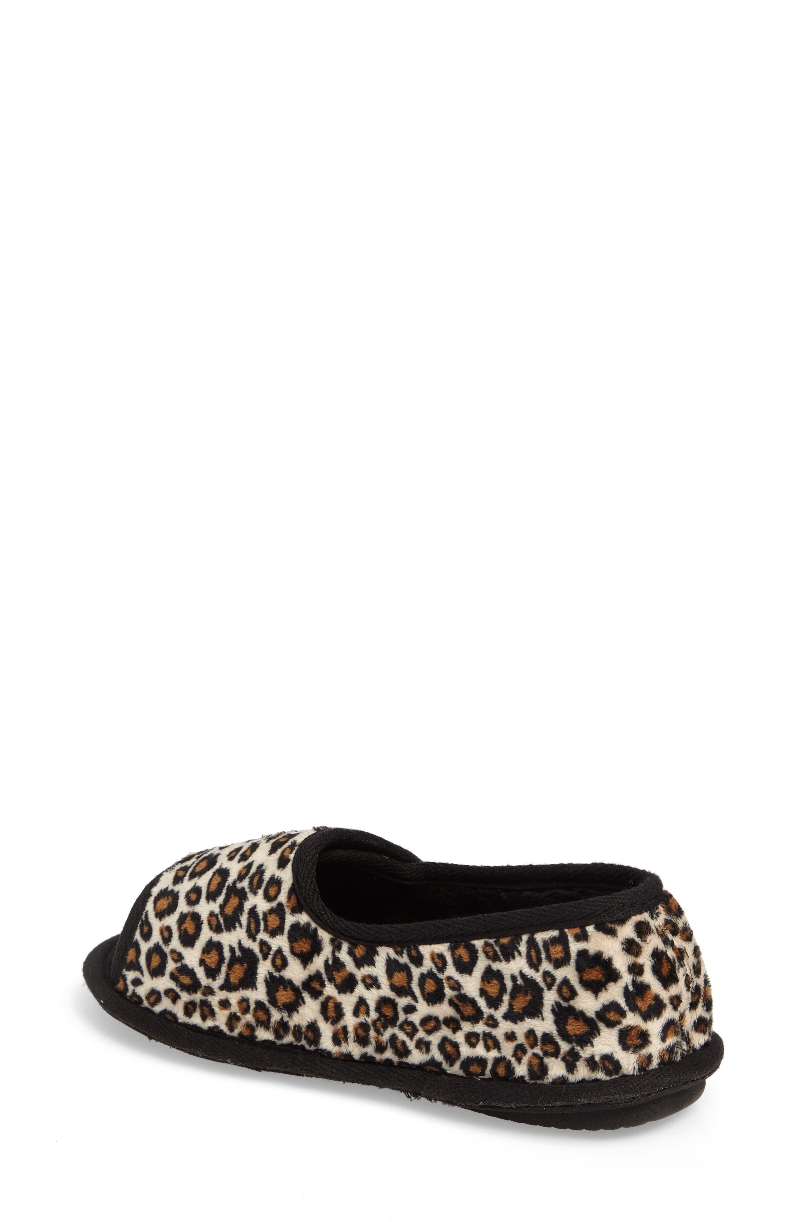 Tara II Slipper,                             Alternate thumbnail 2, color,                             Cheetah Fabric