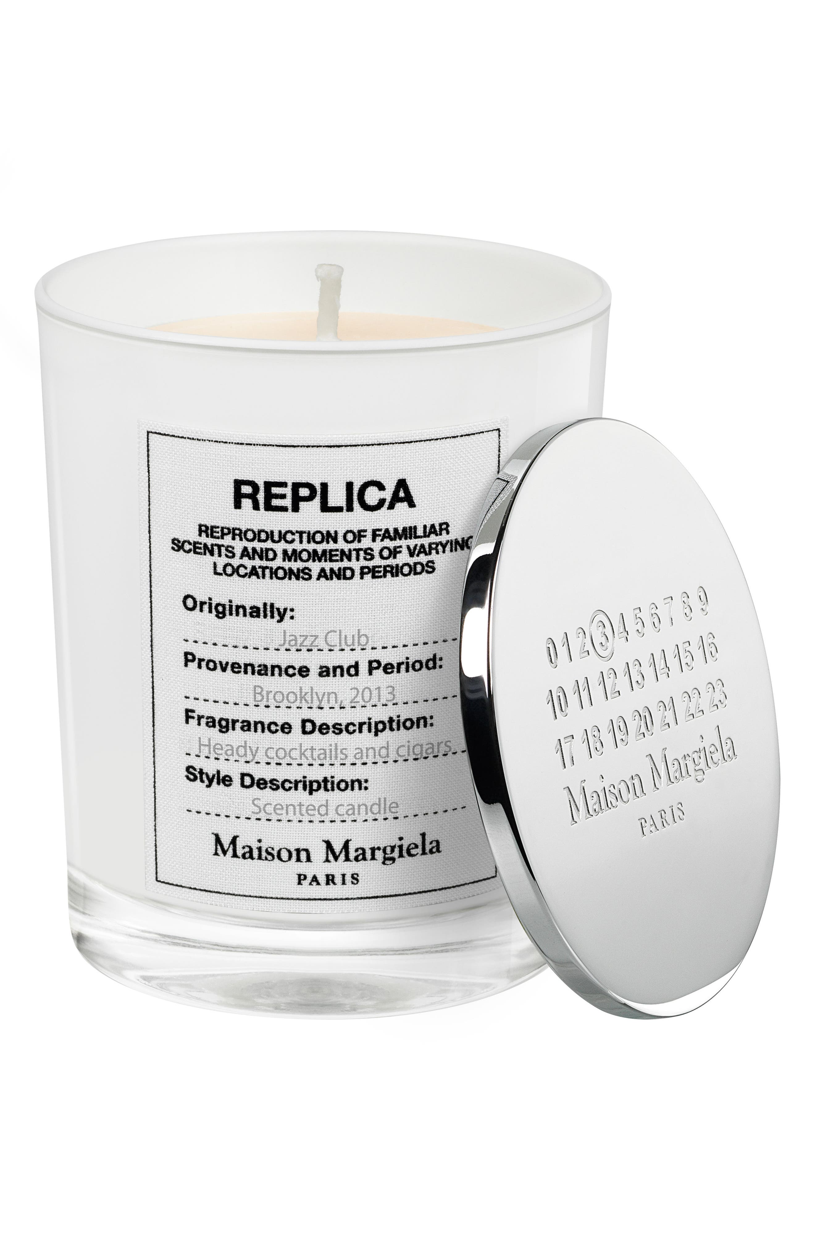 Replica Jazz Club Scented Candle,                             Alternate thumbnail 2, color,                             No Color