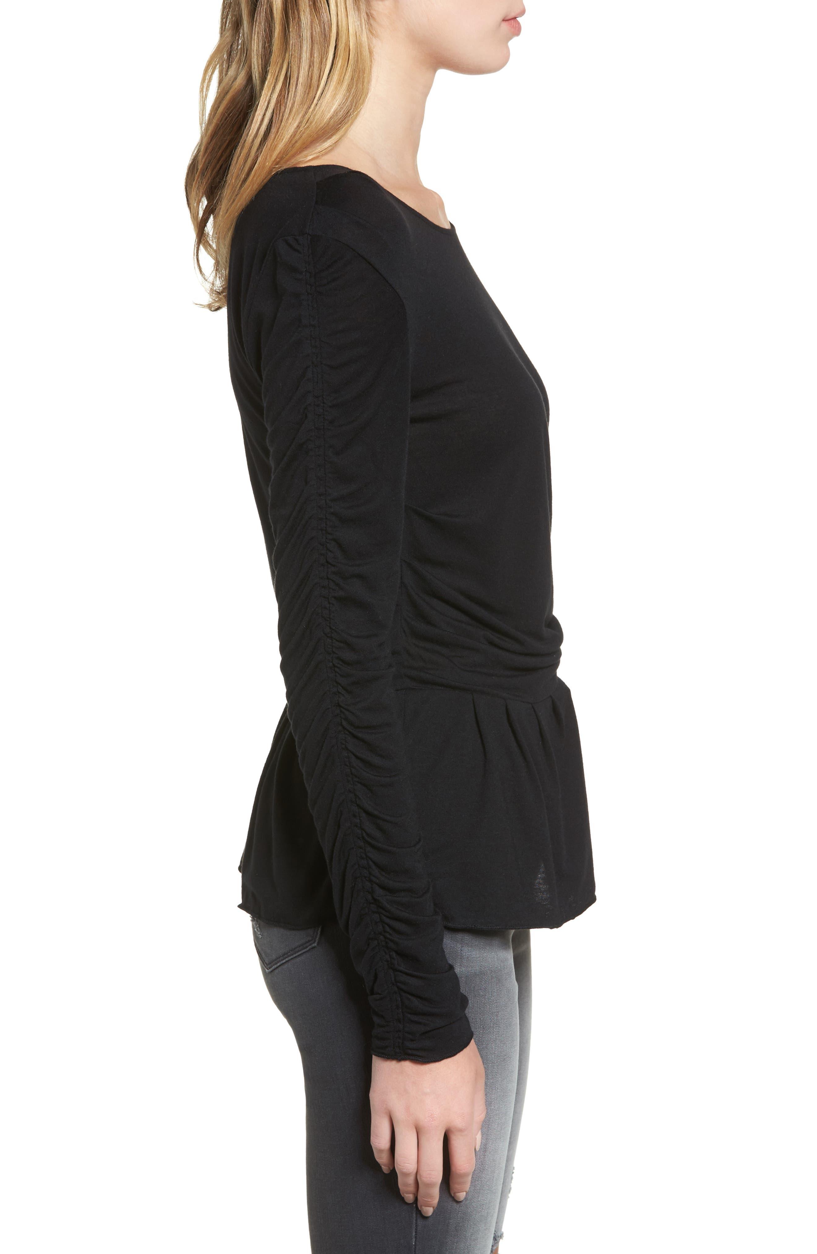 Alternate Image 3  - Hinge Draped Jersey Top