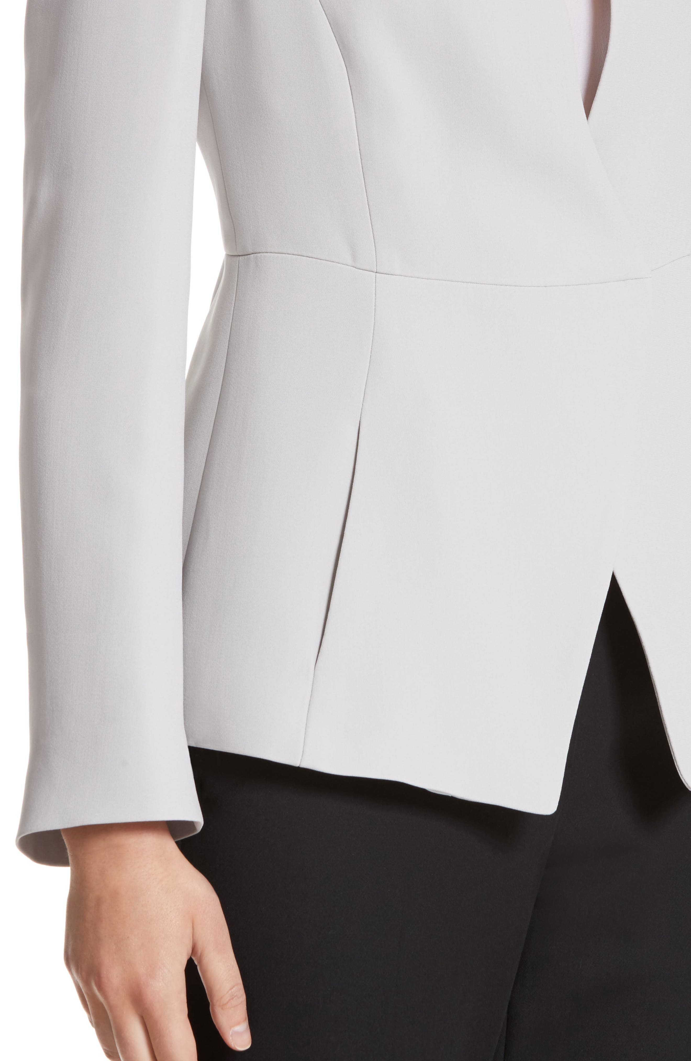 Alternate Image 4  - Armani Collezioni Asymmetrical Cady Jacket