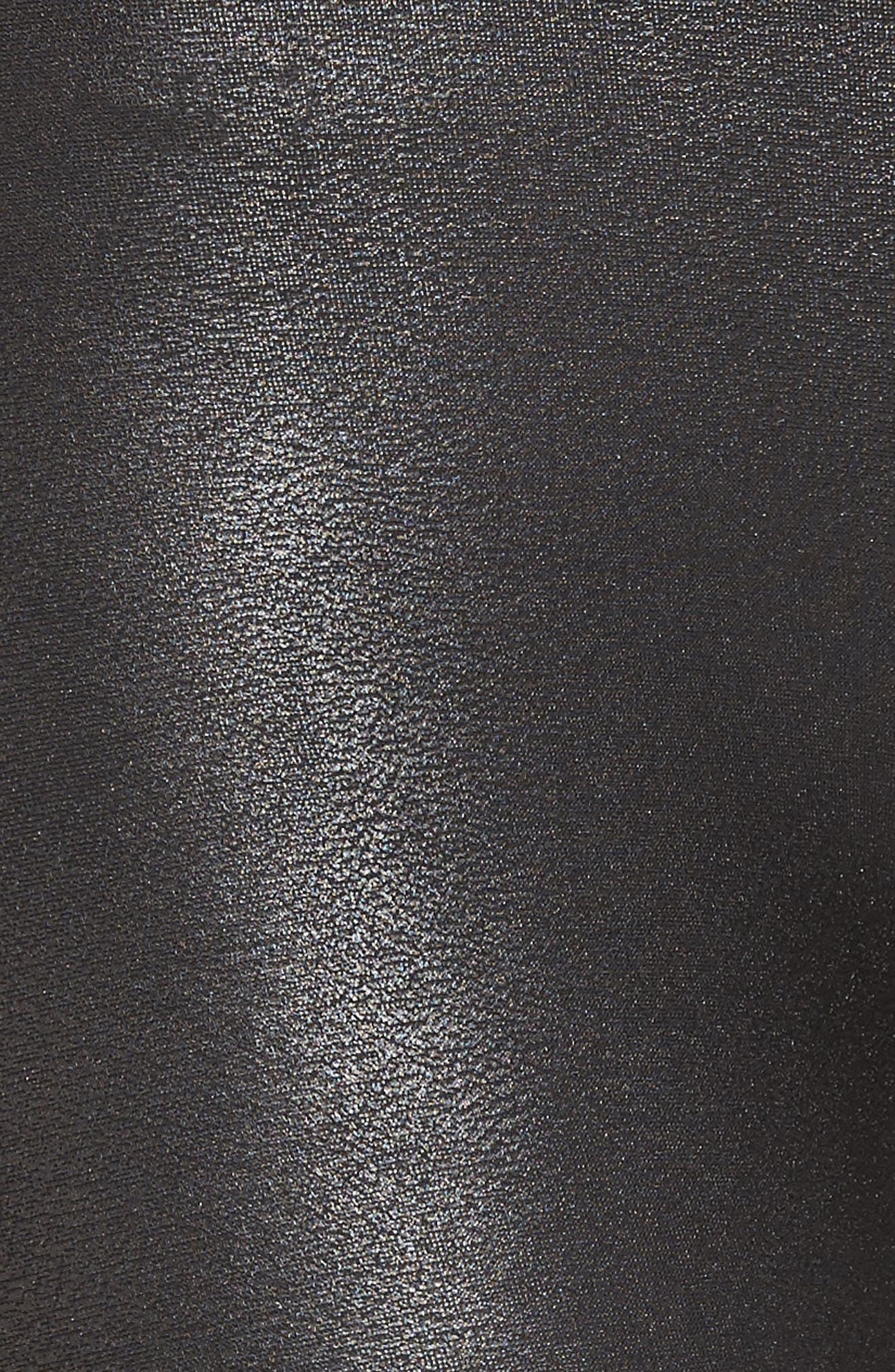Alternate Image 6  - SPANX Faux Leather Moto Leggings