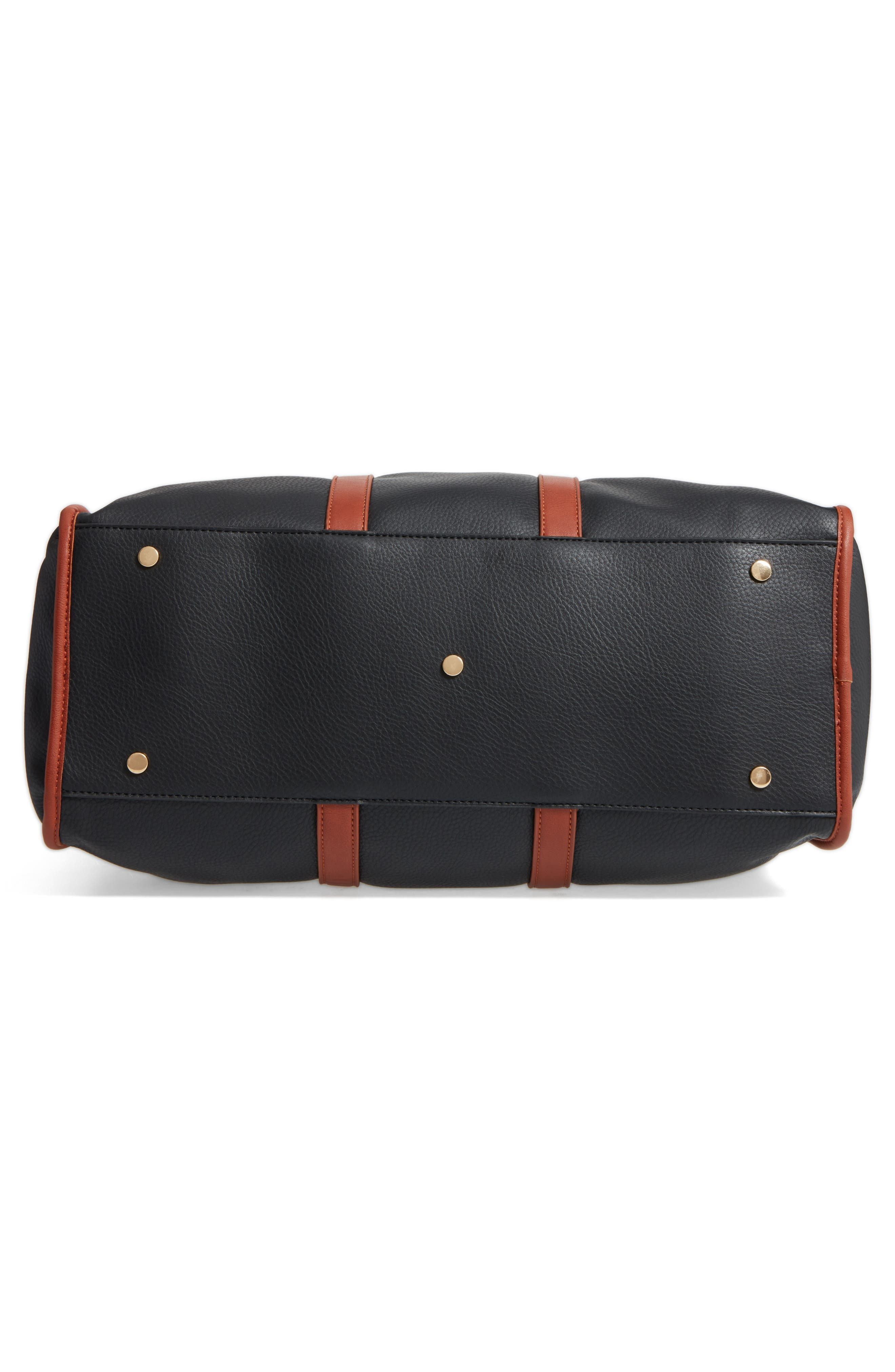 Alternate Image 5  - Sole Society Doxin Faux Leather Duffel Bag