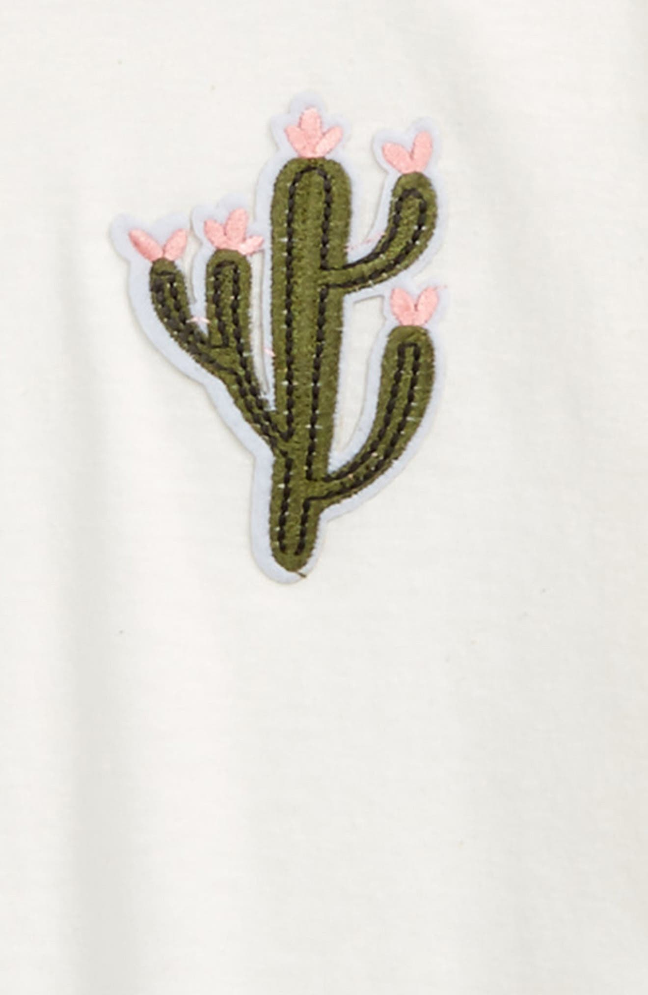 Cactus Patch Tee,                             Alternate thumbnail 2, color,                             Ivory