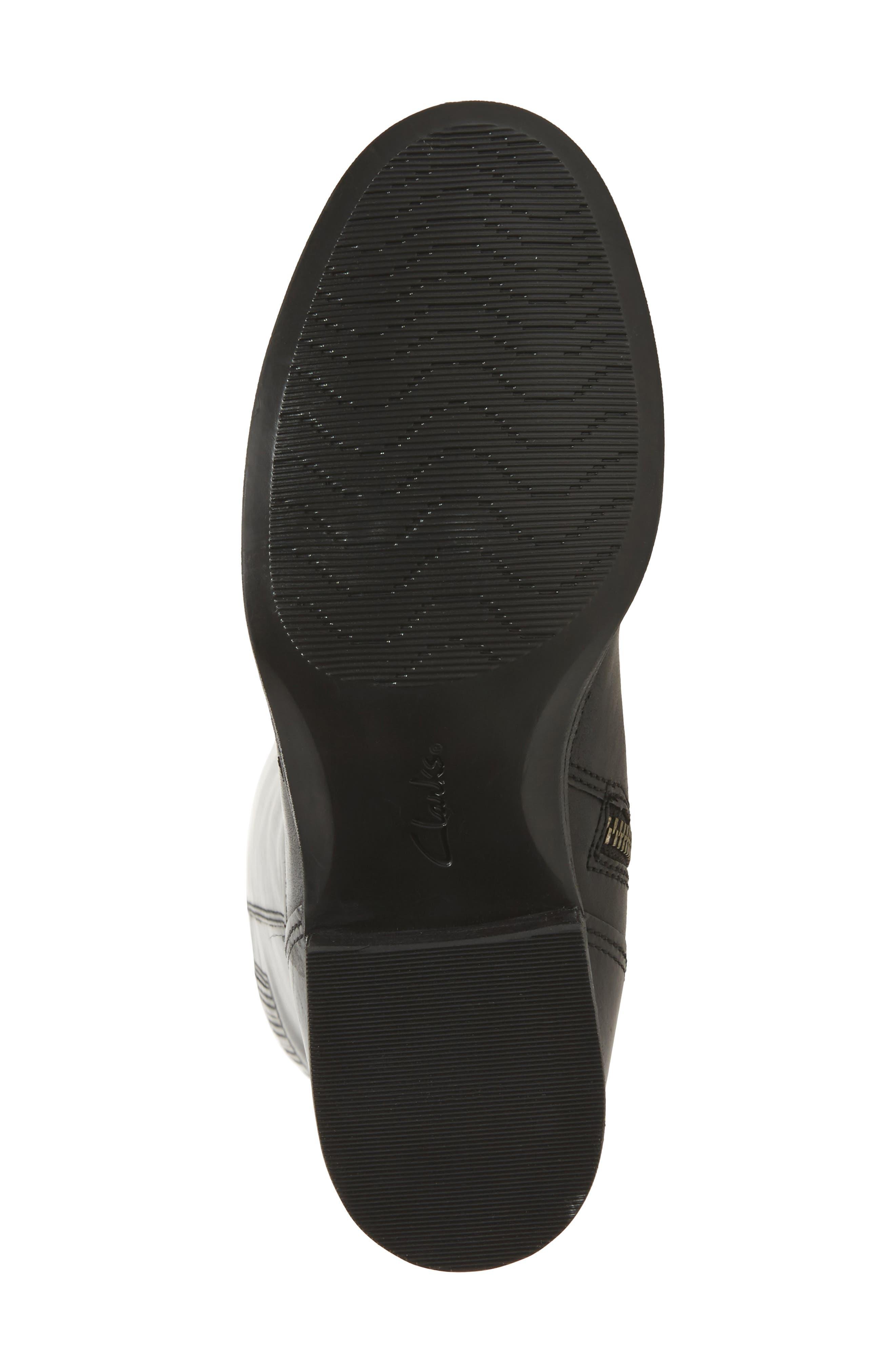 Maypearl Viola Boot,                             Alternate thumbnail 6, color,                             Black Leather