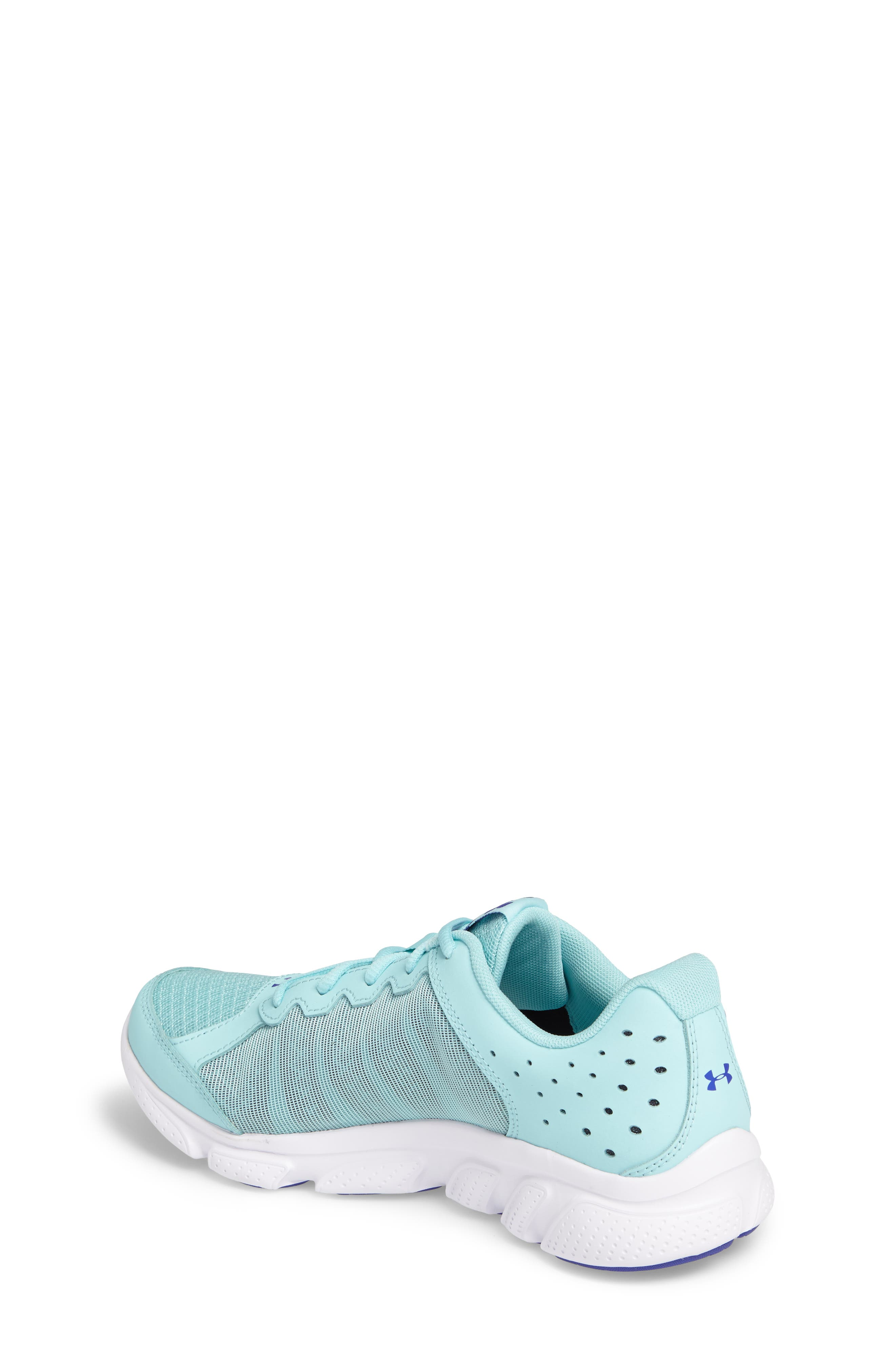 'Micro G<sup>®</sup> Assert VI' Running Shoe,                             Alternate thumbnail 2, color,                             Blue Infinity/ White