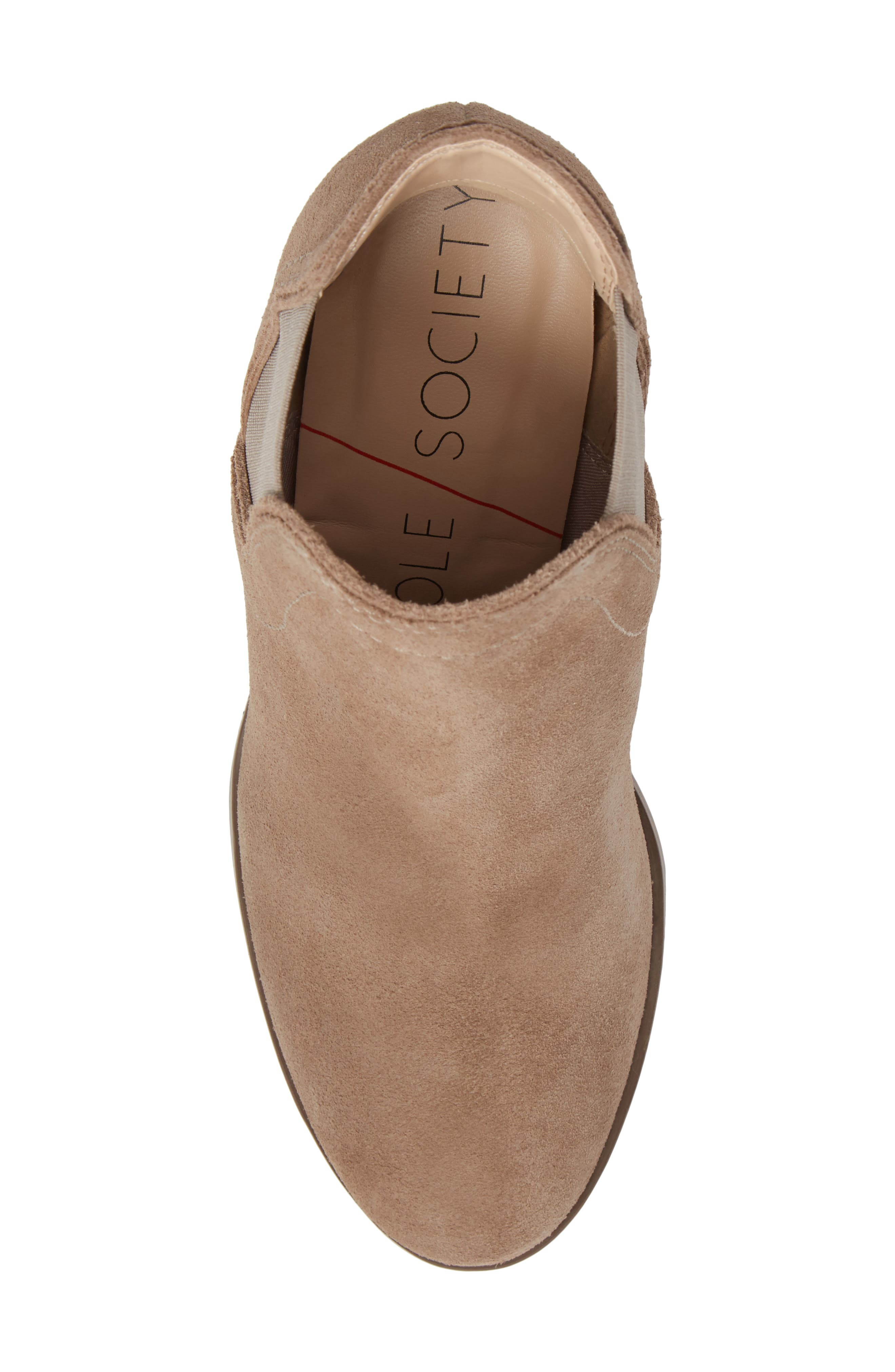 Carrillo Bootie,                             Alternate thumbnail 5, color,                             Taupe