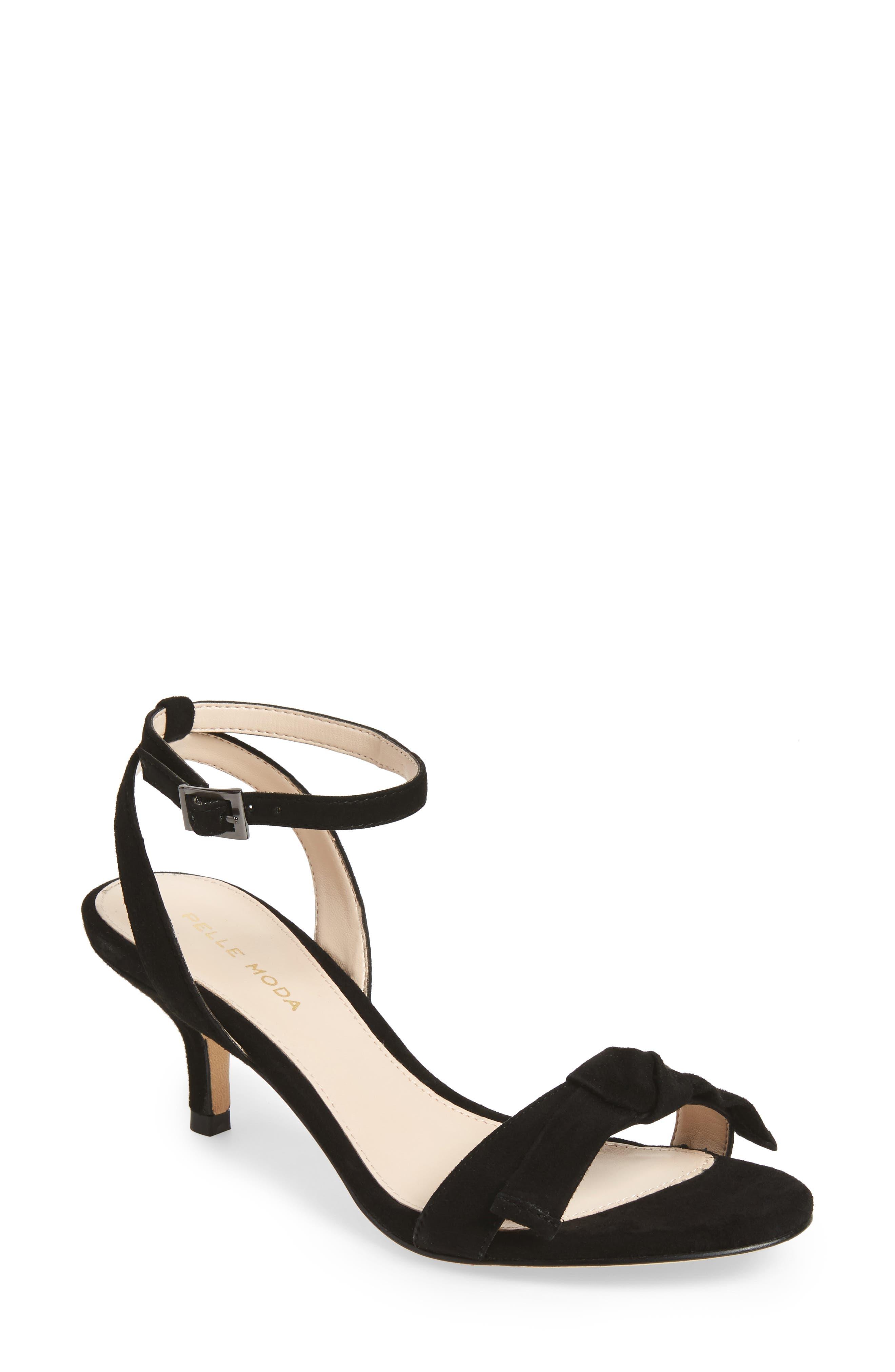 Alexia 2 Sandal,                             Main thumbnail 1, color,                             Black Suede