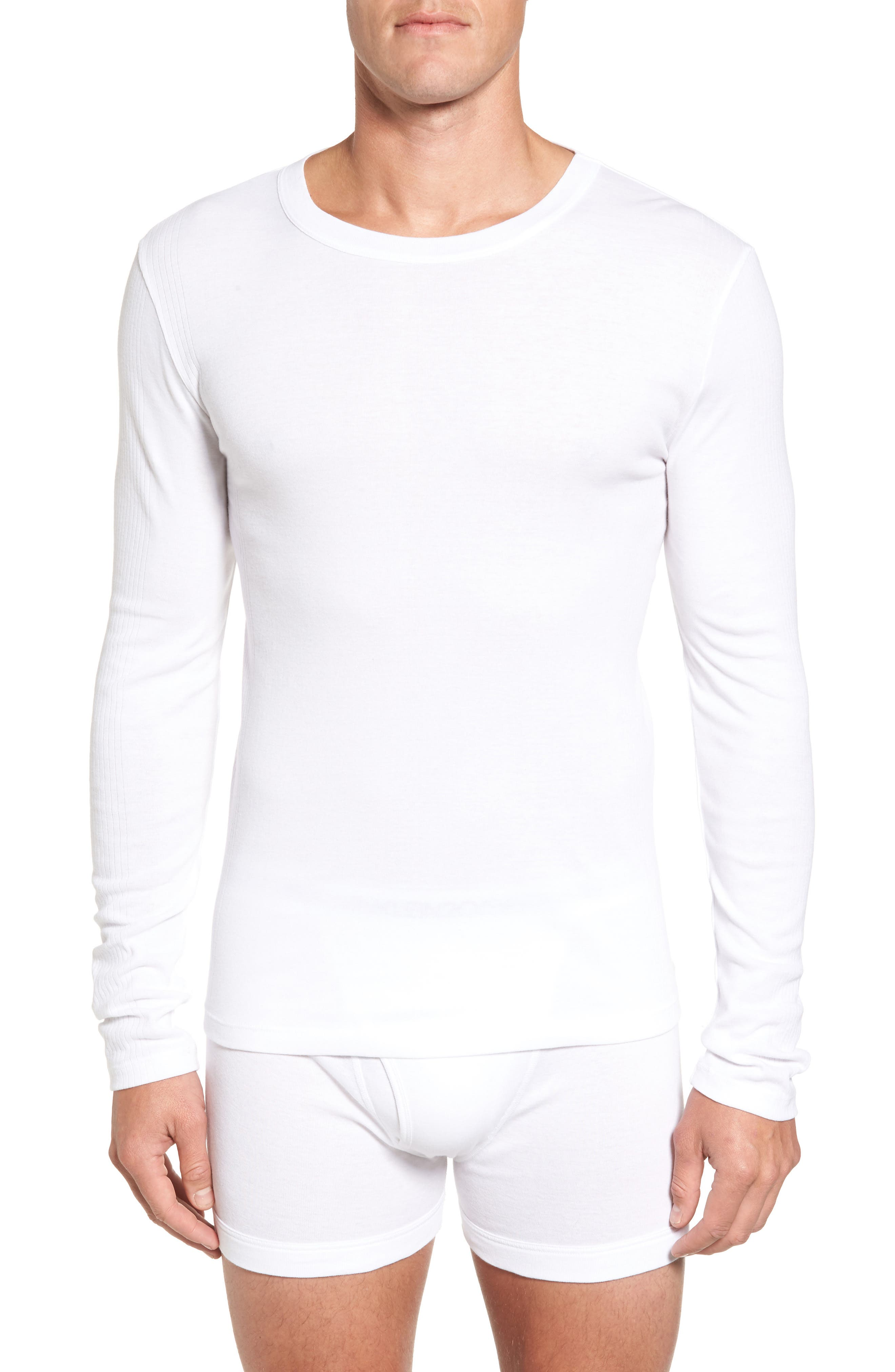 CALVIN KLEIN Concept Luxury 3-Pack Long Sleeve T-Shirt