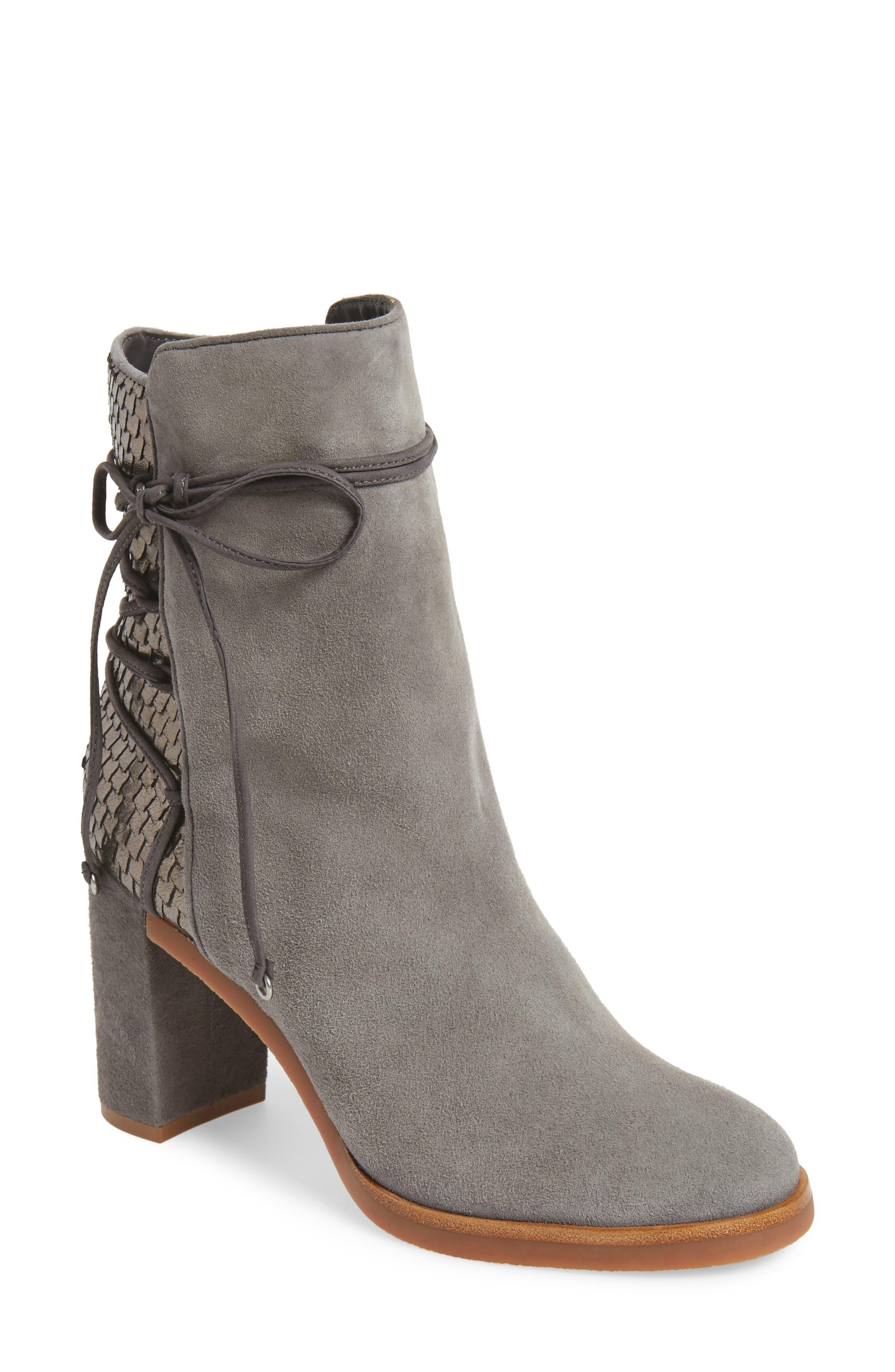 Main Image - Johnston & Murphy Adley Ankle Wrap Boot (Women)