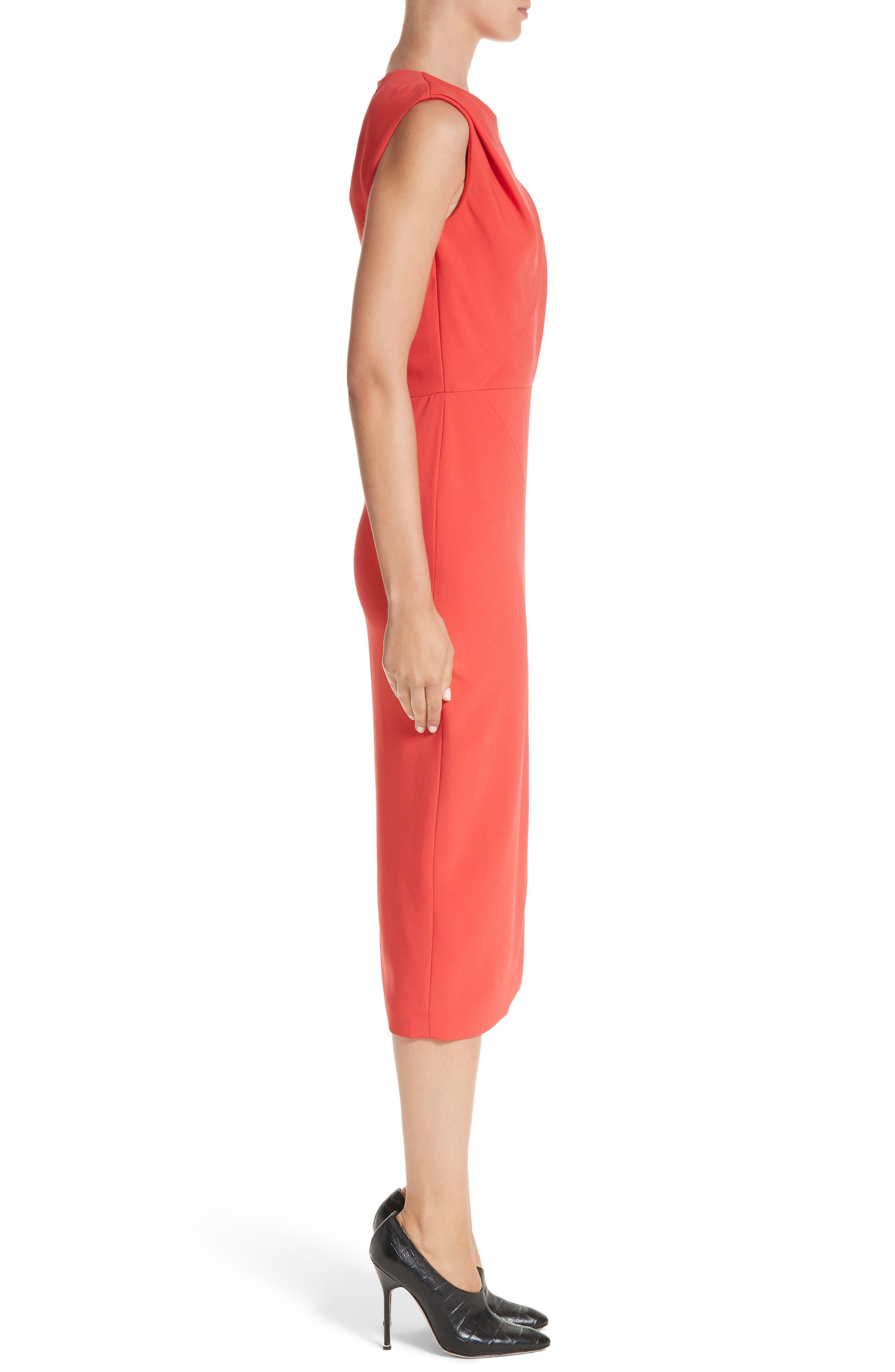 Day Dress,                             Alternate thumbnail 3, color,                             Watermelon