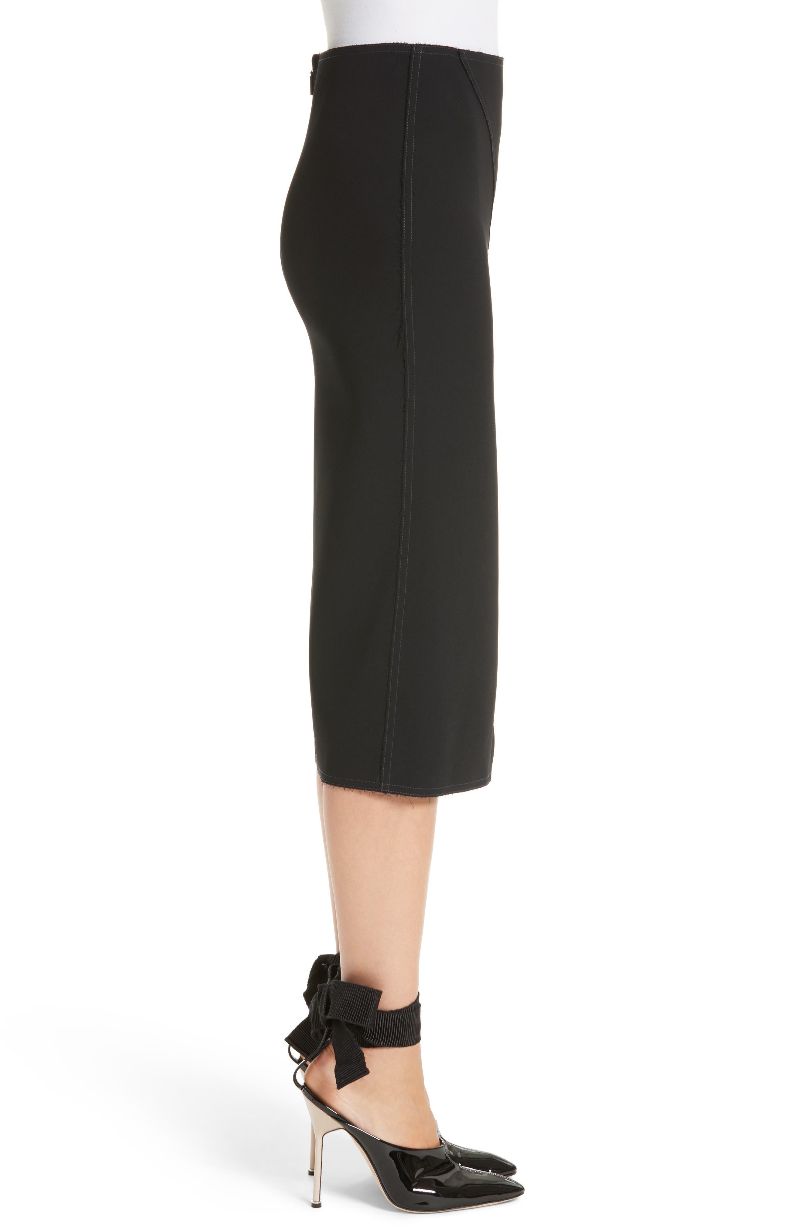 Alternate Image 3  - Jason Wu Compact Crepe Pencil Skirt