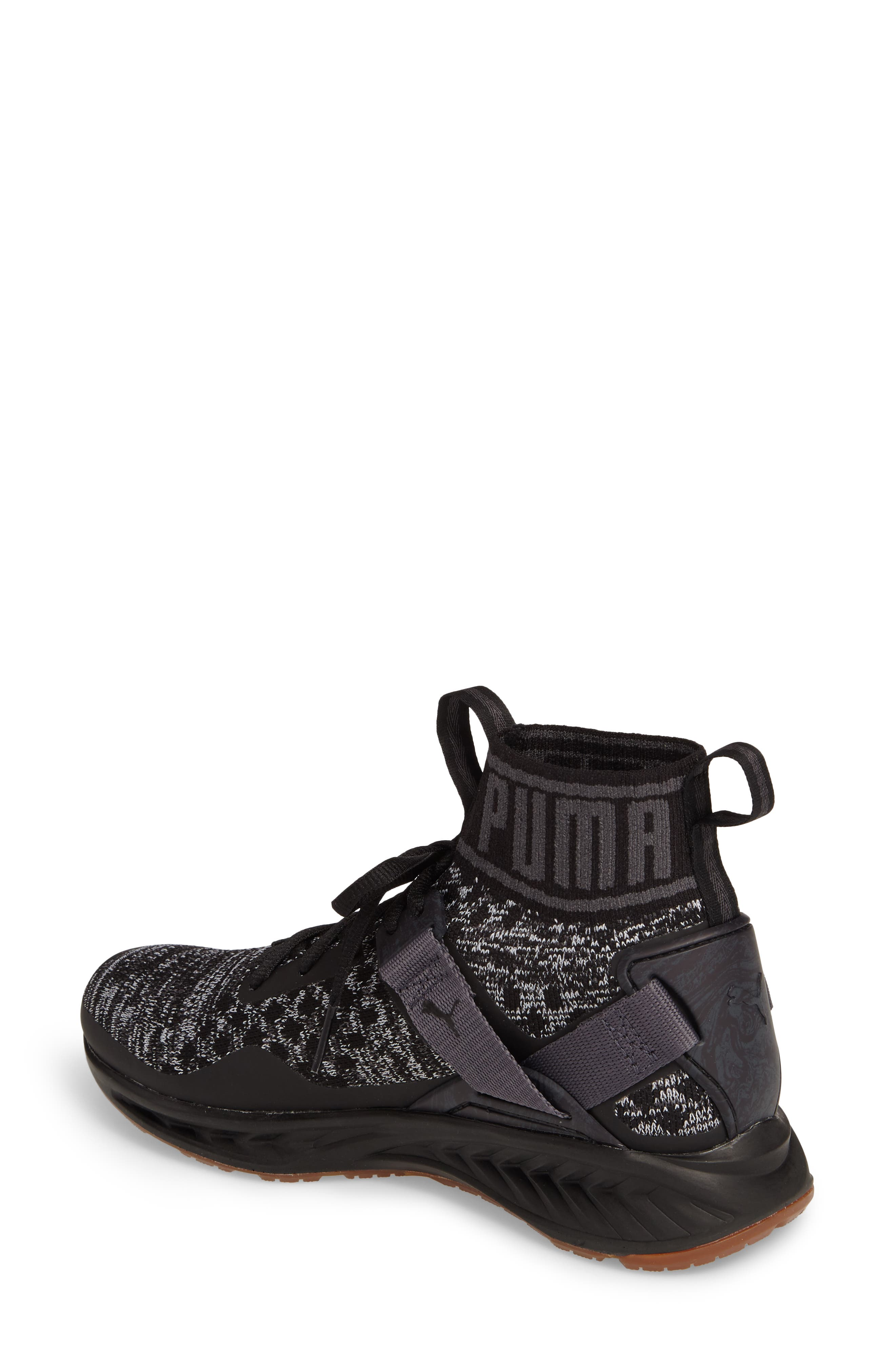 Alternate Image 2  - PUMA IGNITE evoKNIT Running Shoe (Women)