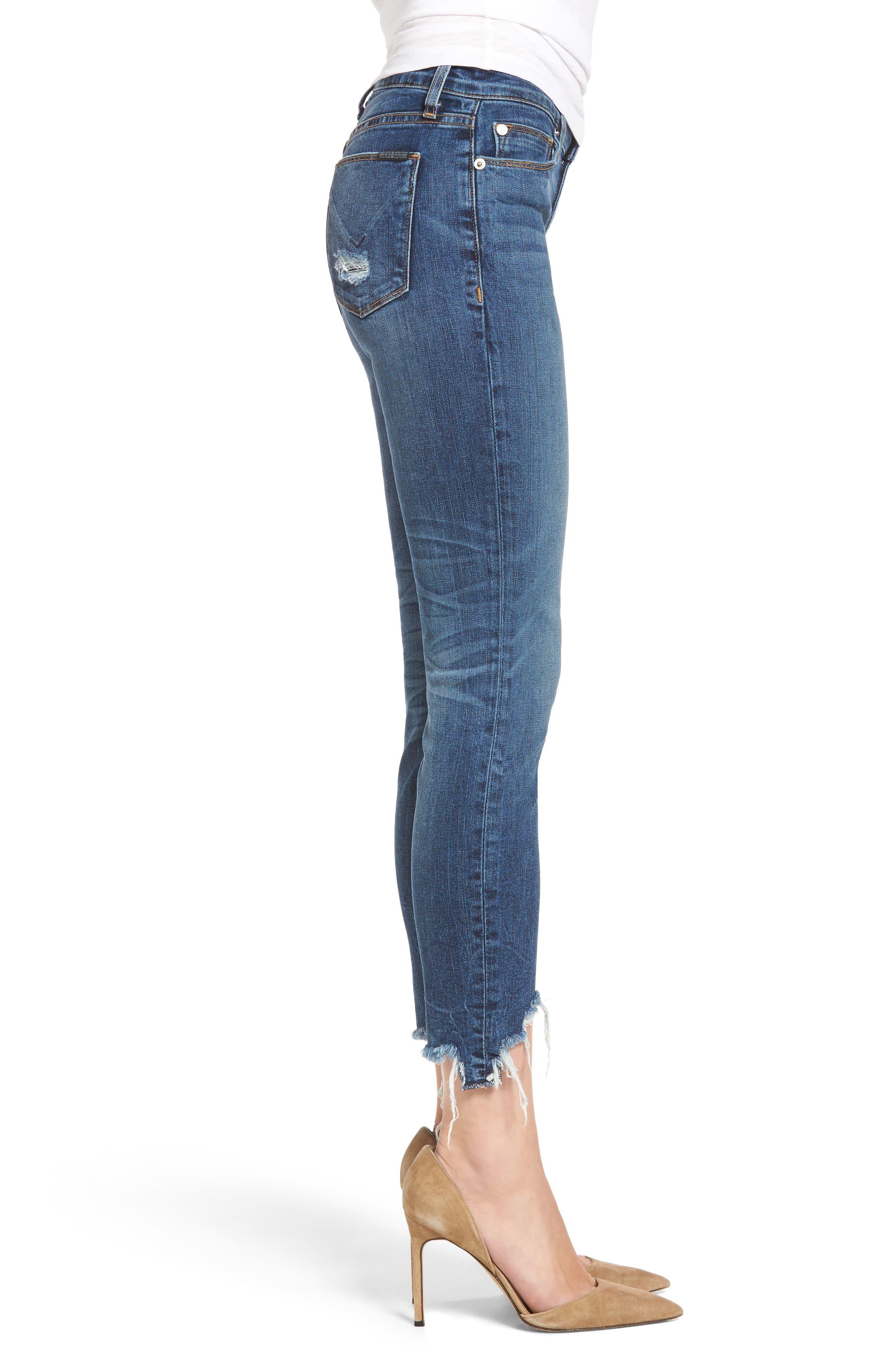 Tally Unfamed Hem Skinny Jeans,                             Alternate thumbnail 2, color,                             Split Second