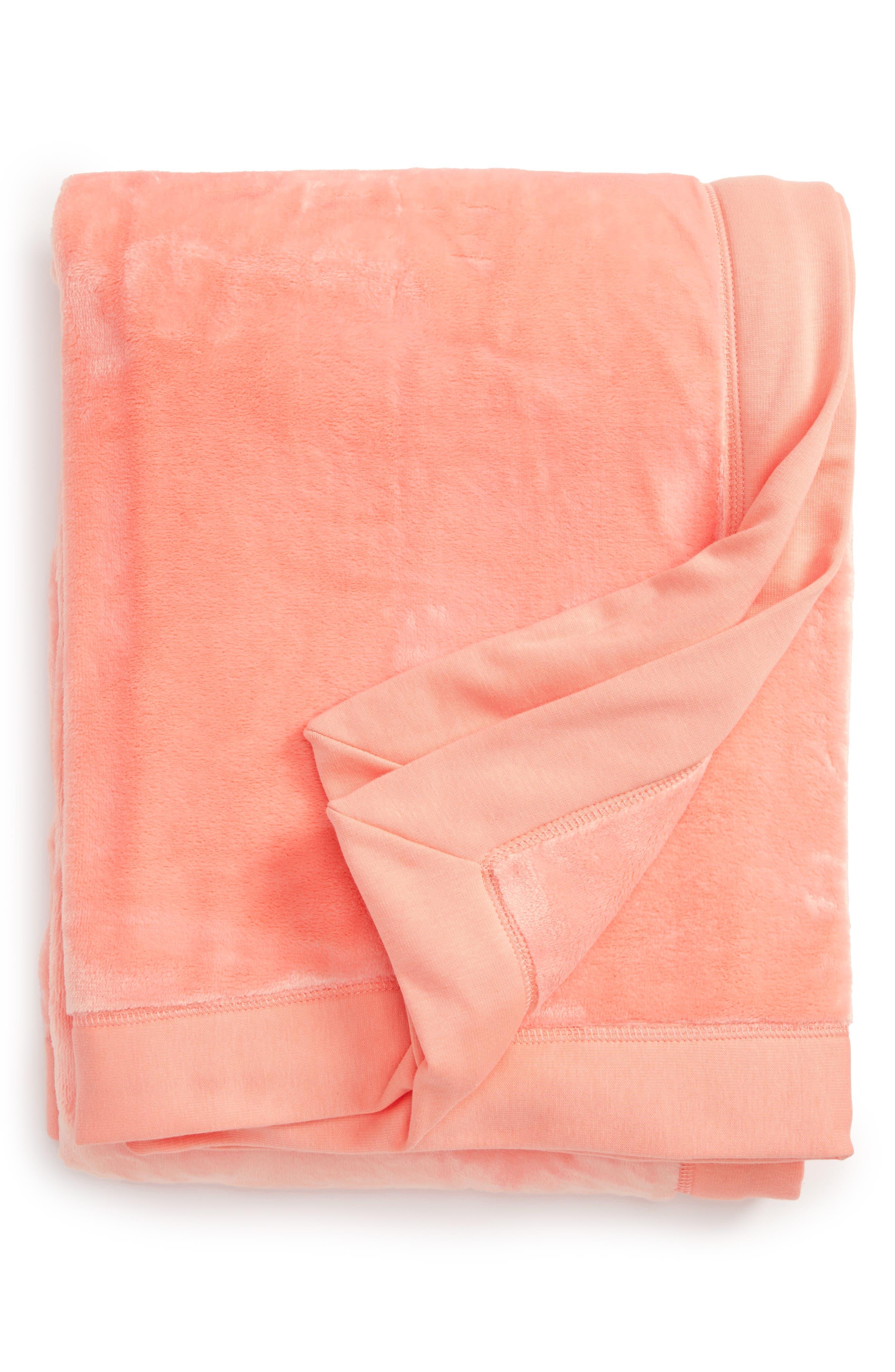 Duffield Throw,                         Main,                         color, Tropical Peach