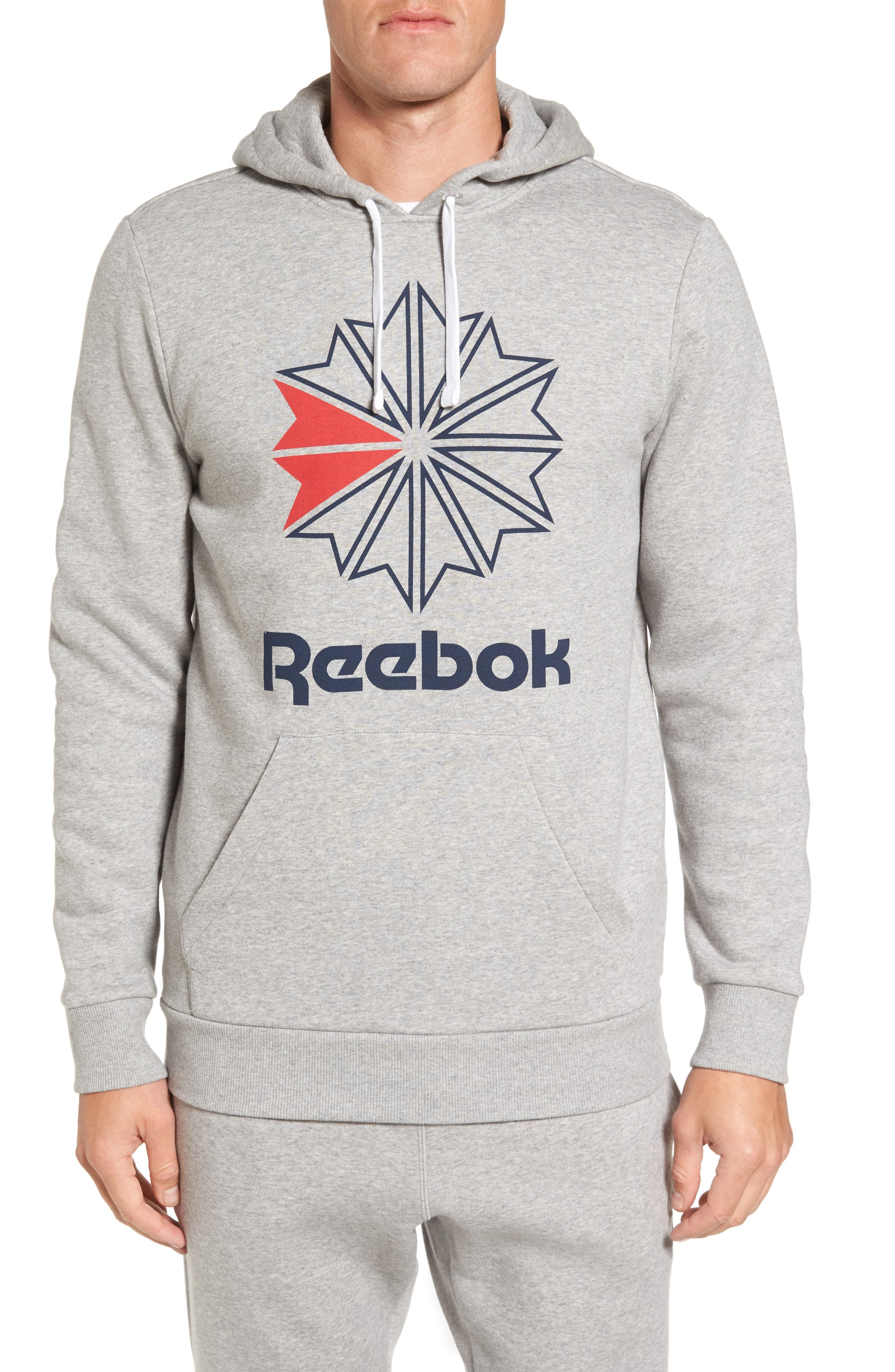 Alternate Image 1 Selected - Reebok Classics Star Graphic Hoodie