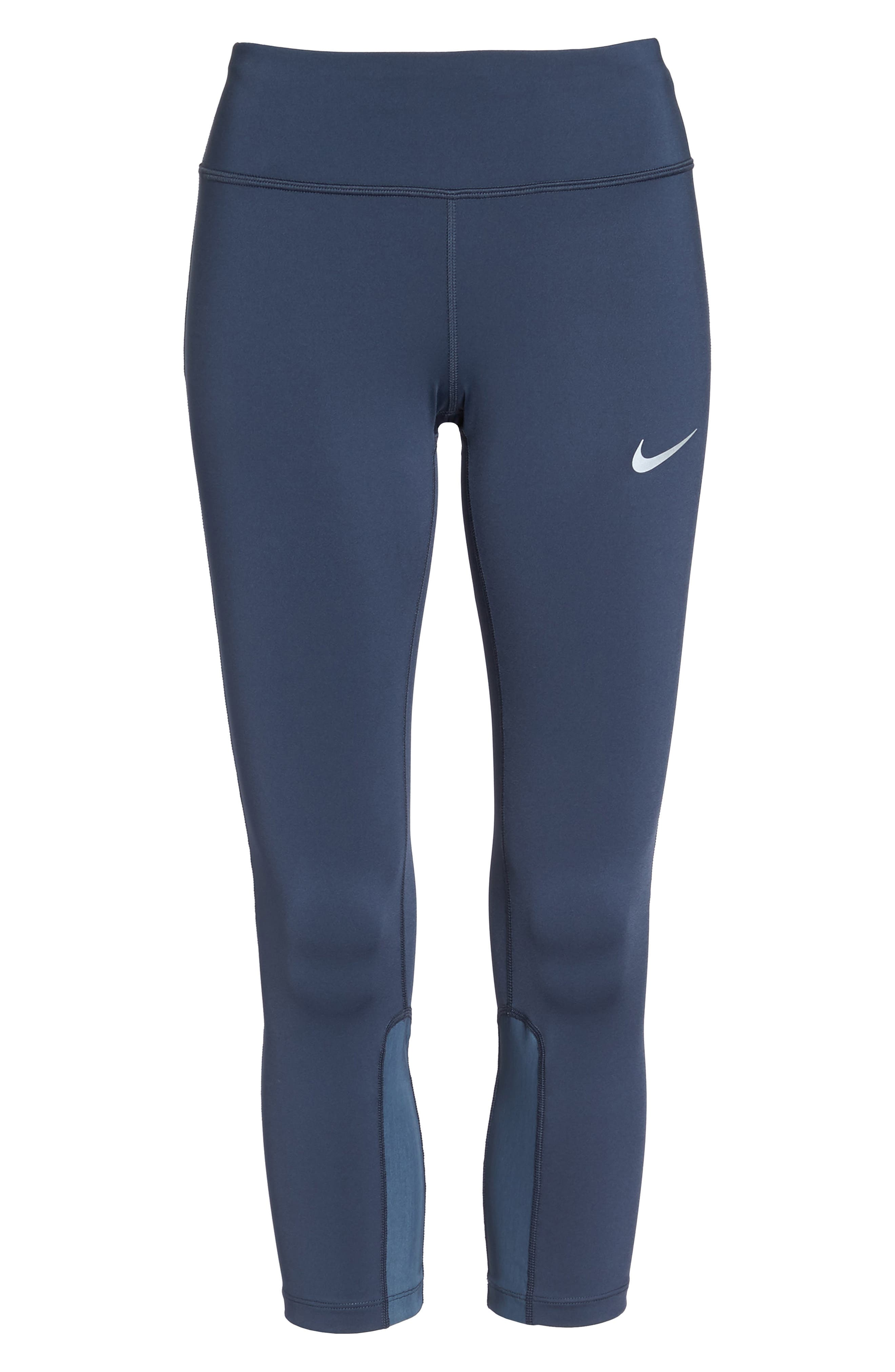 Alternate Image 7  - Nike Power Epic Run Crop Tights