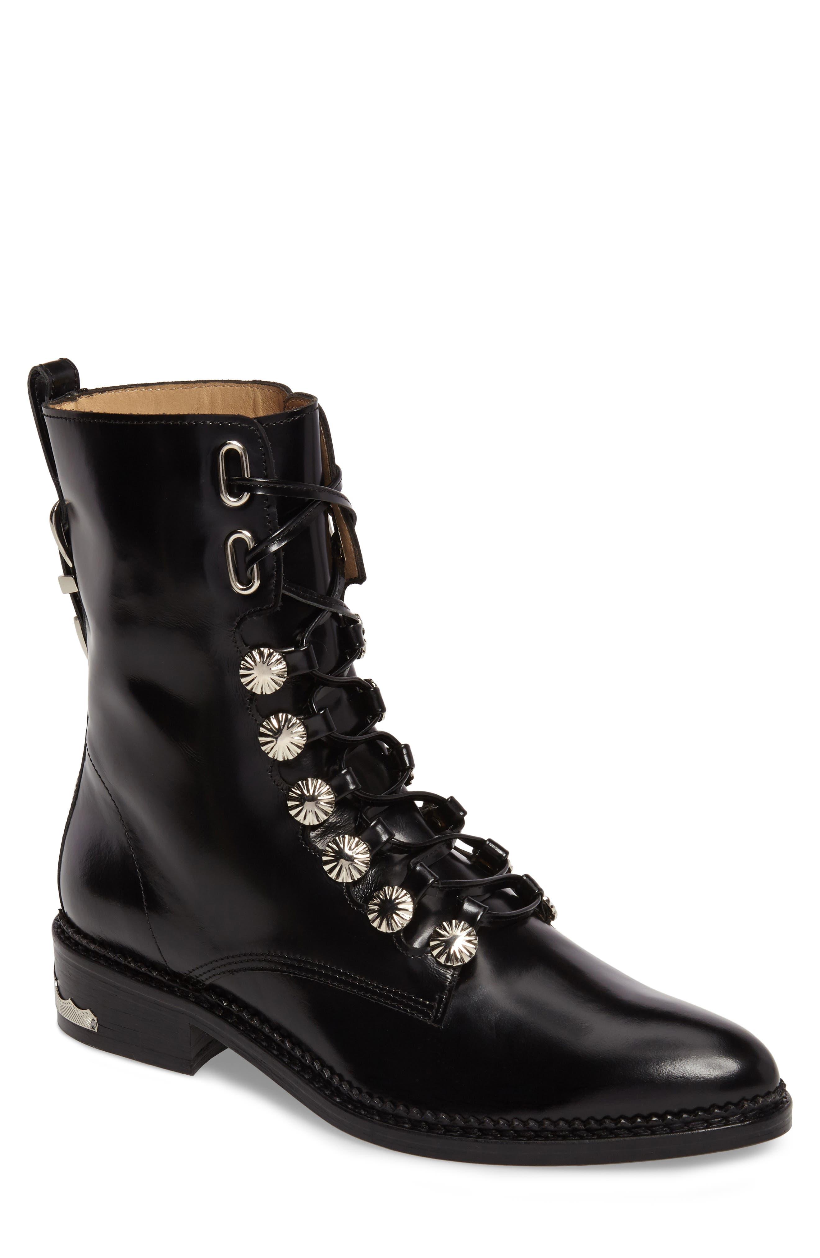 Main Image - TOGA PULLA Embellished Lace-Up Boot (Women)