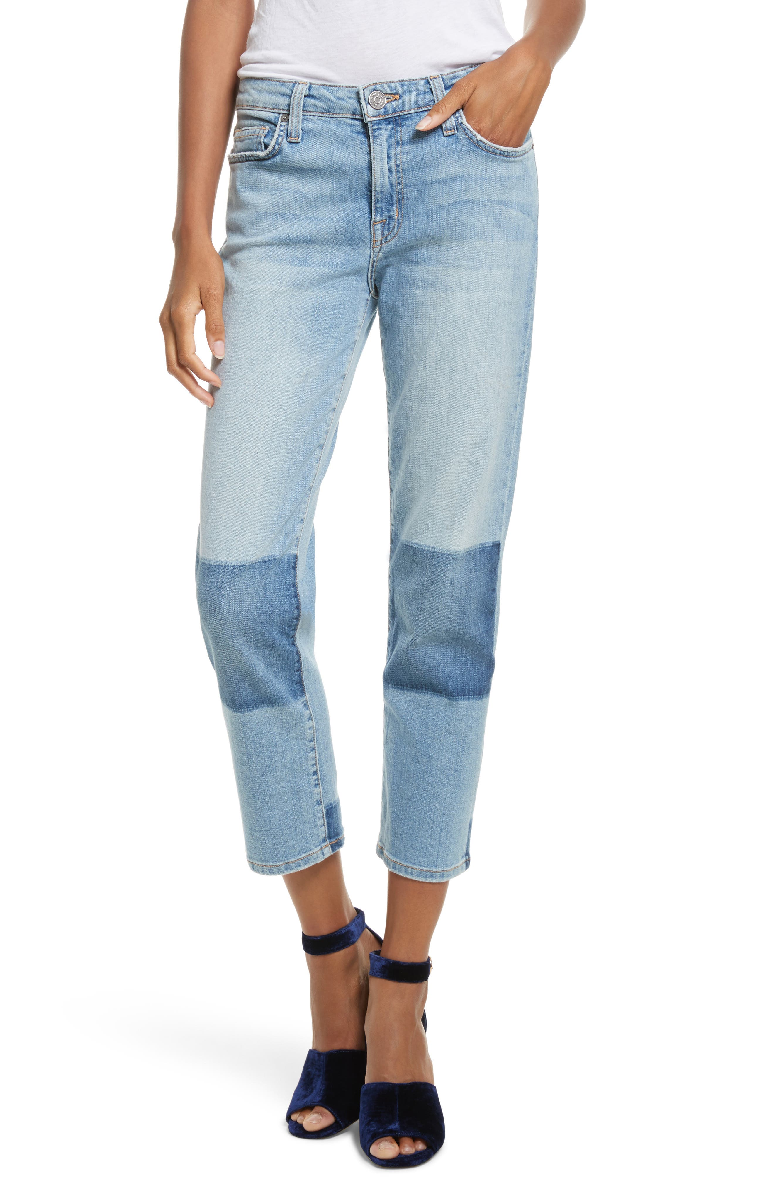 Alternate Image 1 Selected - Joie Josalind Straight Leg Crop Jeans