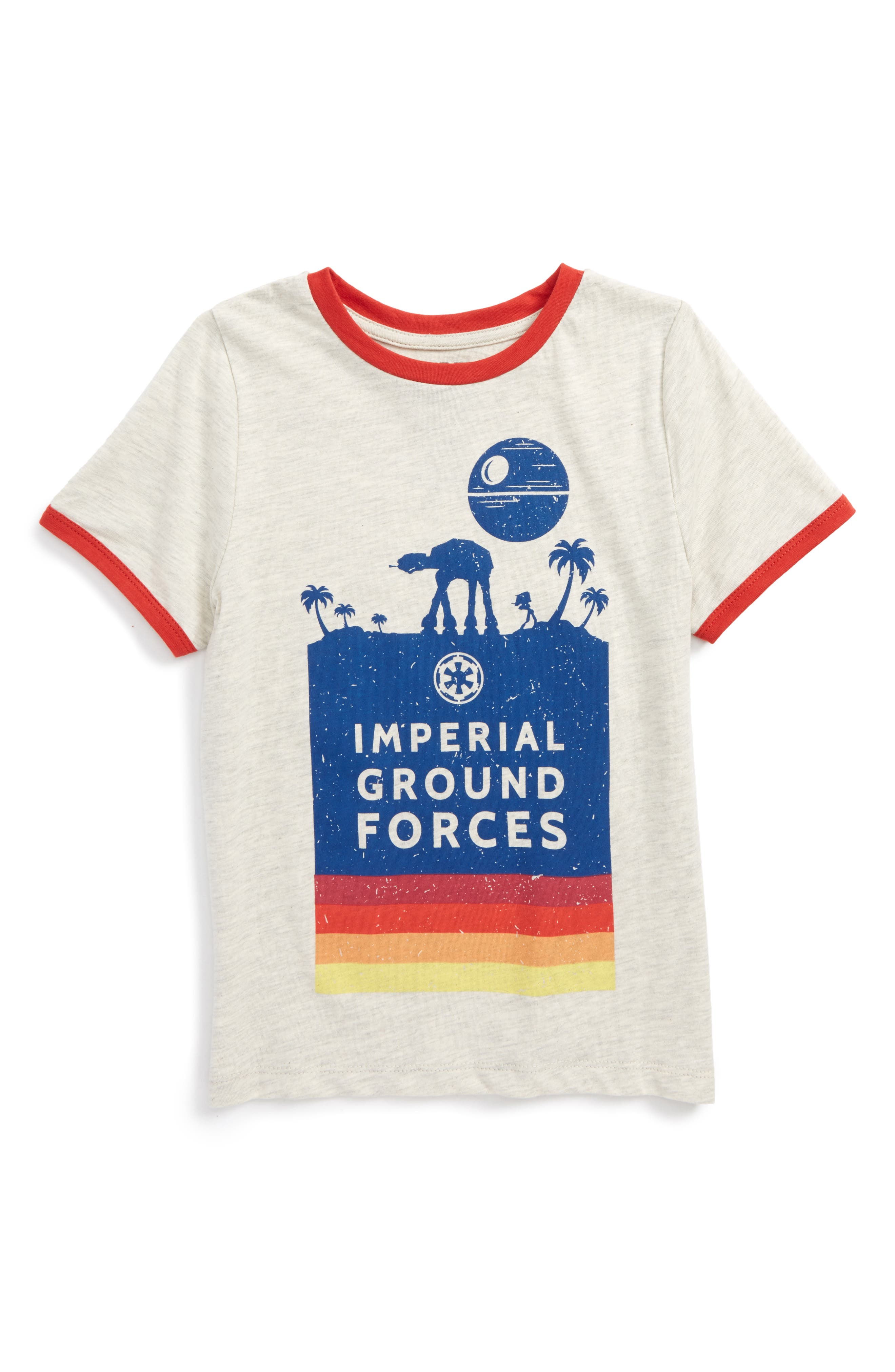 Main Image - Mighty Fine x Star Wars™ Imperial Ground Forces T-Shirt (Toddler Boys & Little Boys)