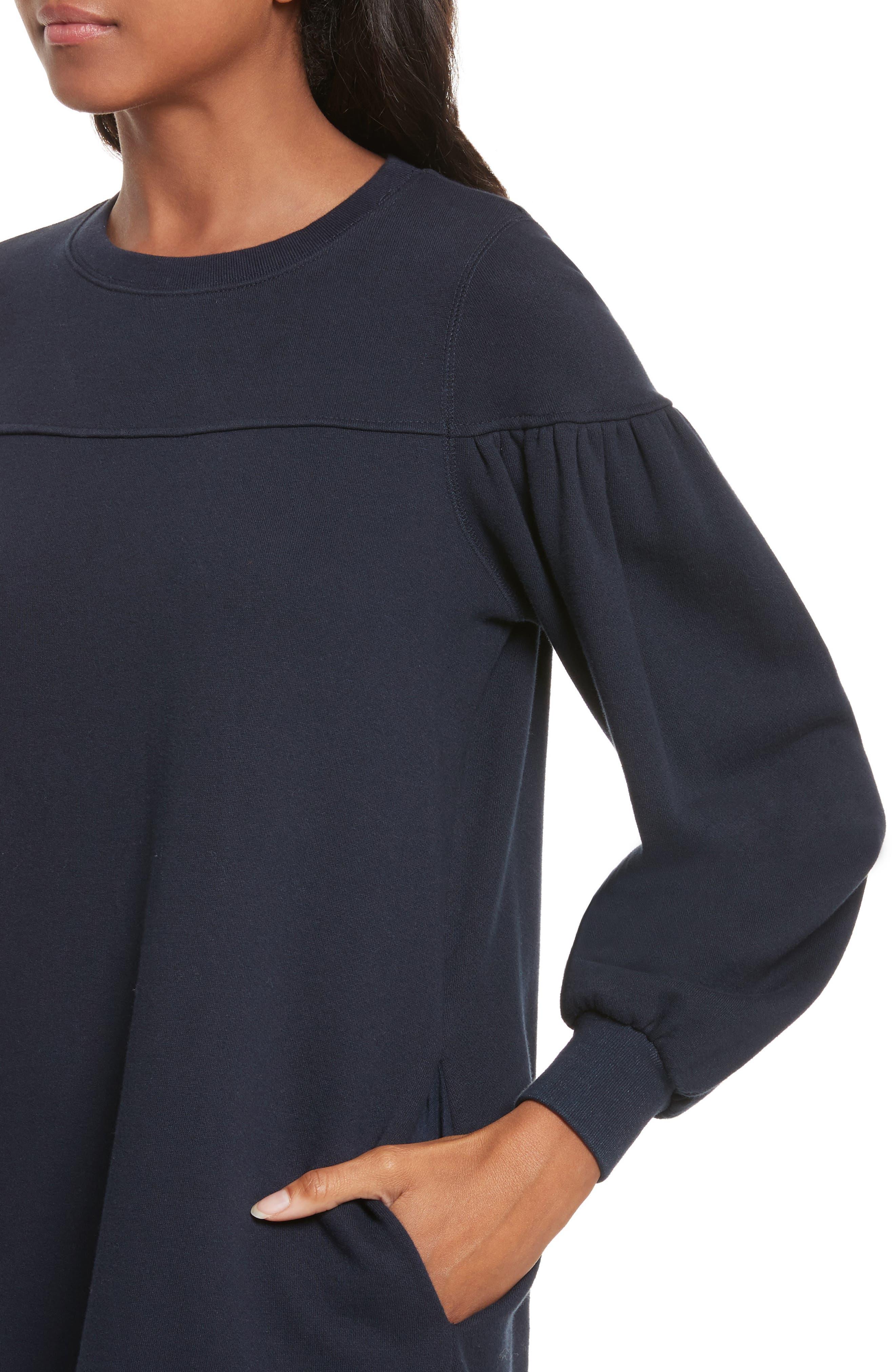Alternate Image 4  - La Vie Rebecca Taylor Long Sleeve Fleece Dress