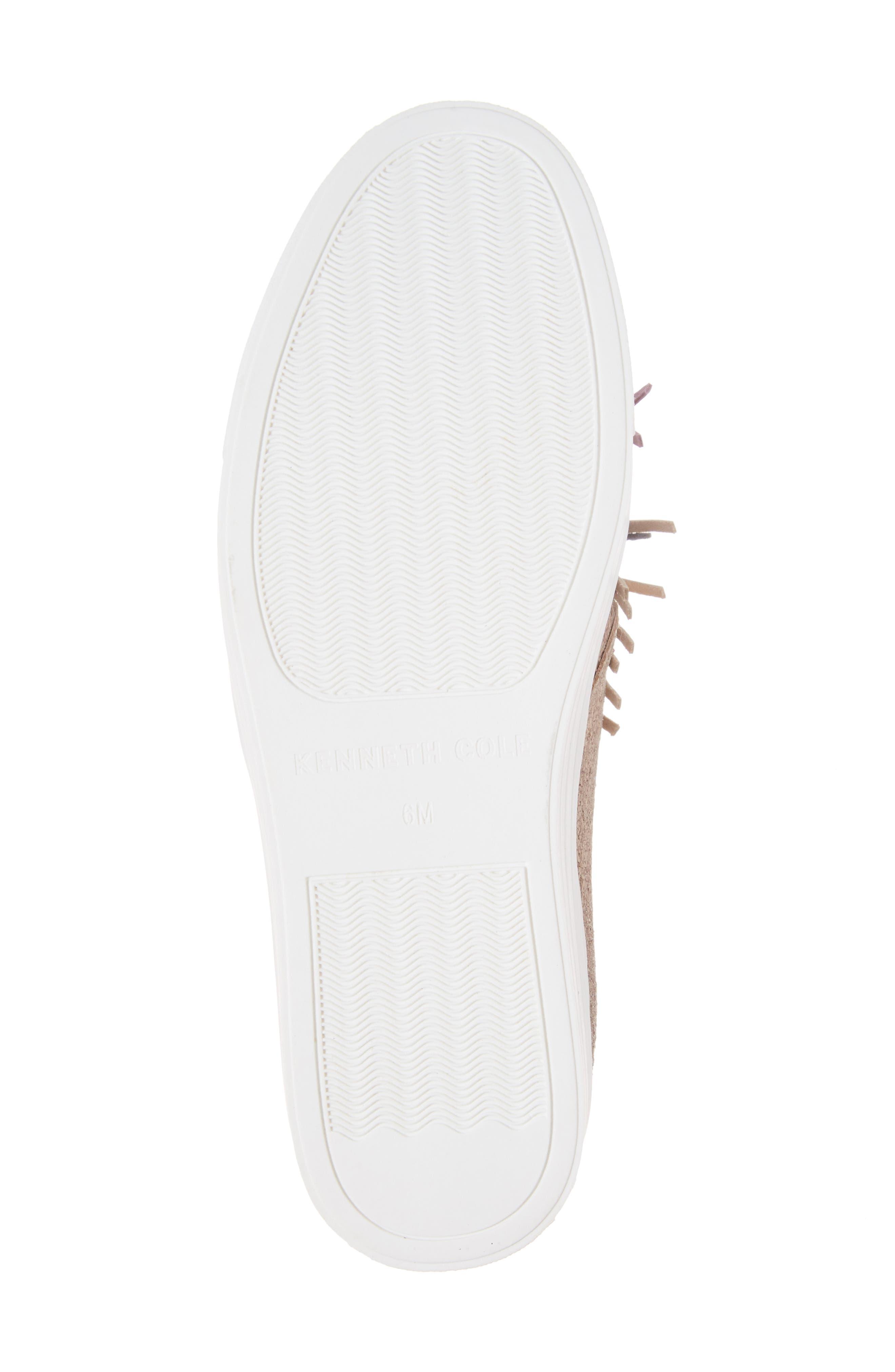 Alternate Image 6  - Kenneth Cole New York Jayson Pom Platform Sneaker (Women)