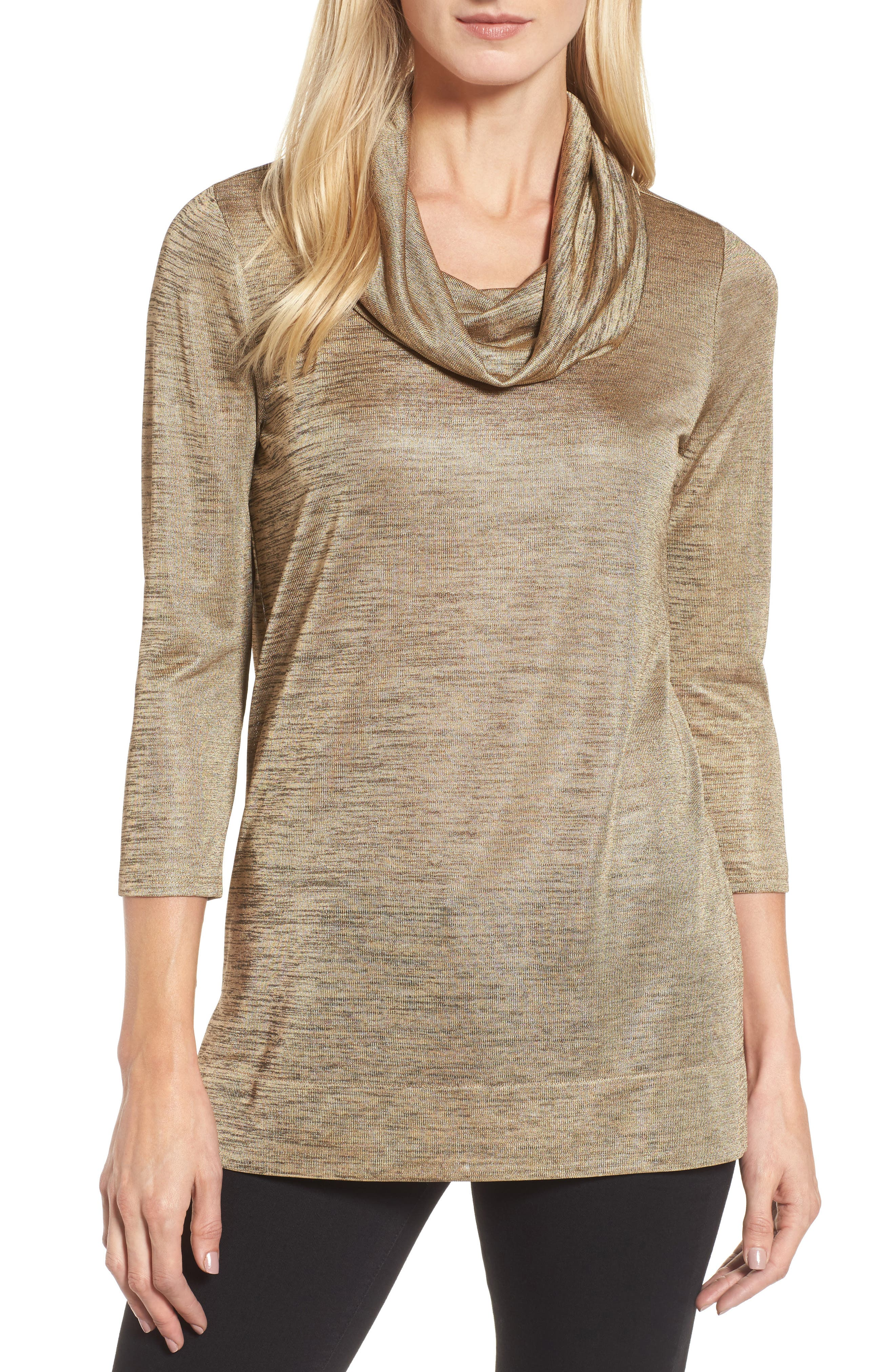 Chaus Cowl Neck Top