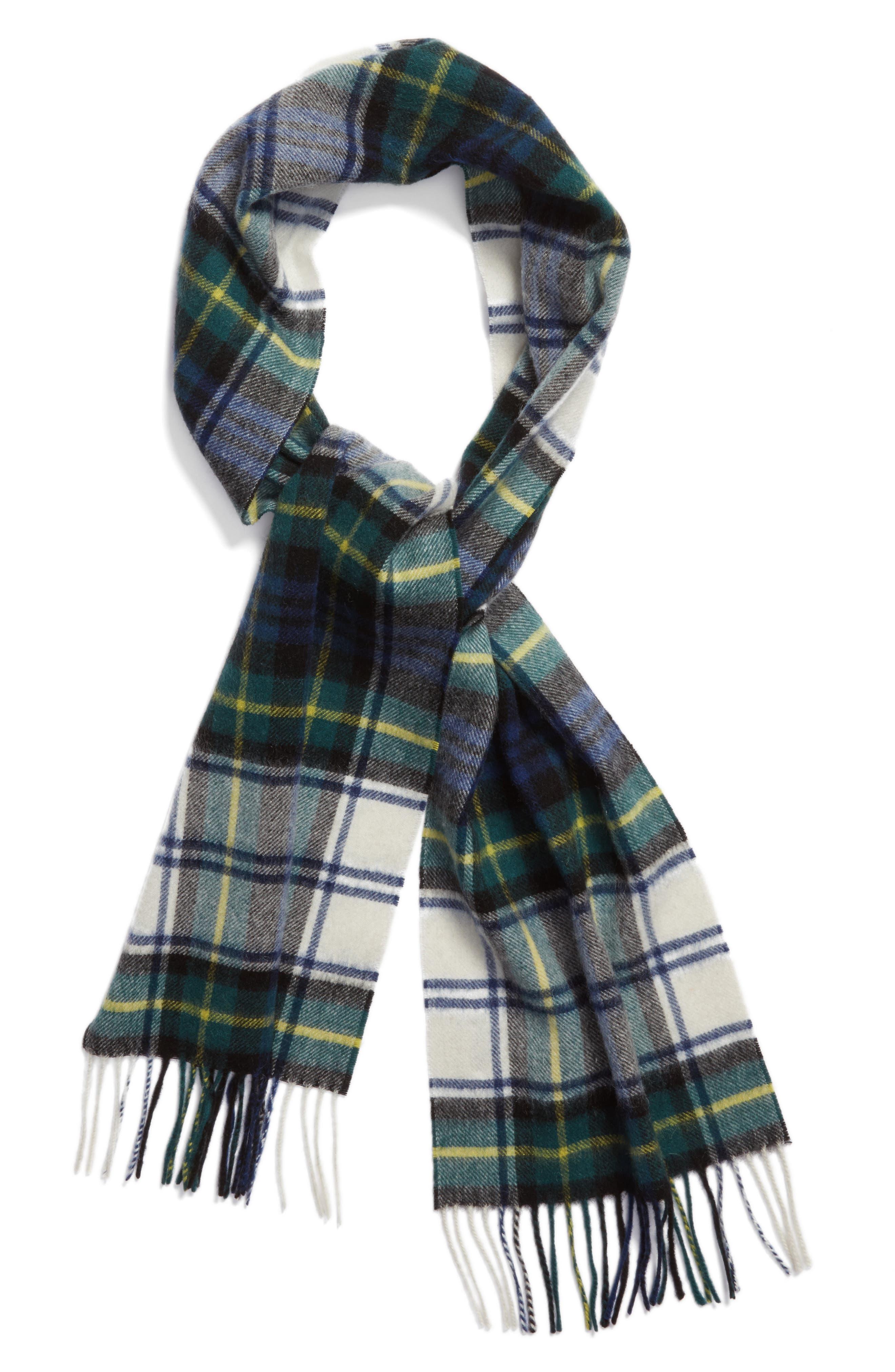 Alternate Image 2  - Barbour 'Shilhope' Plaid Wool Scarf