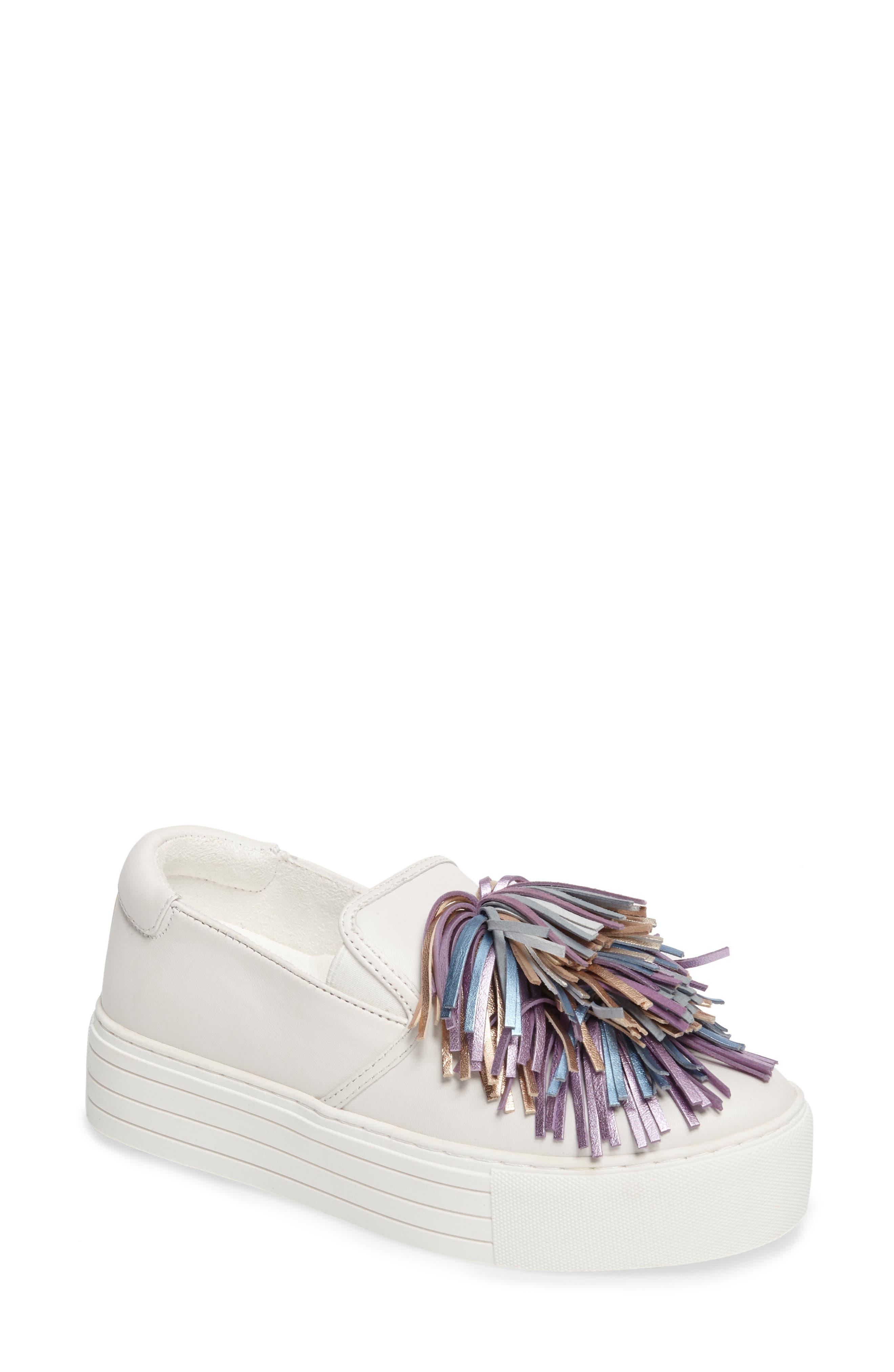 Kenneth Cole New York Jayson Pom Platform Sneaker (Women)