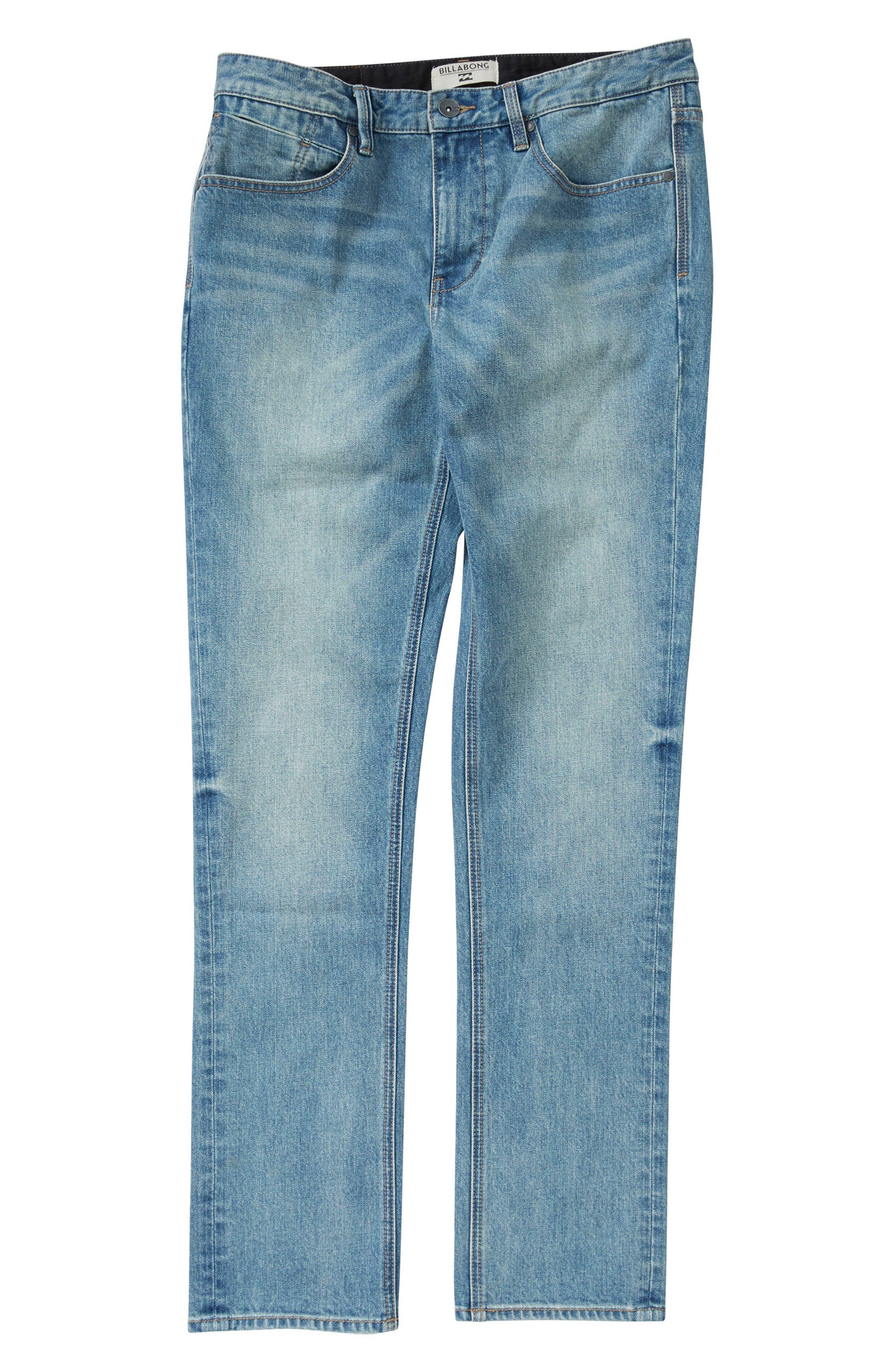 Alternate Image 1 Selected - Billabong Outsider Jeans (Toddler Boys & Little Boys)