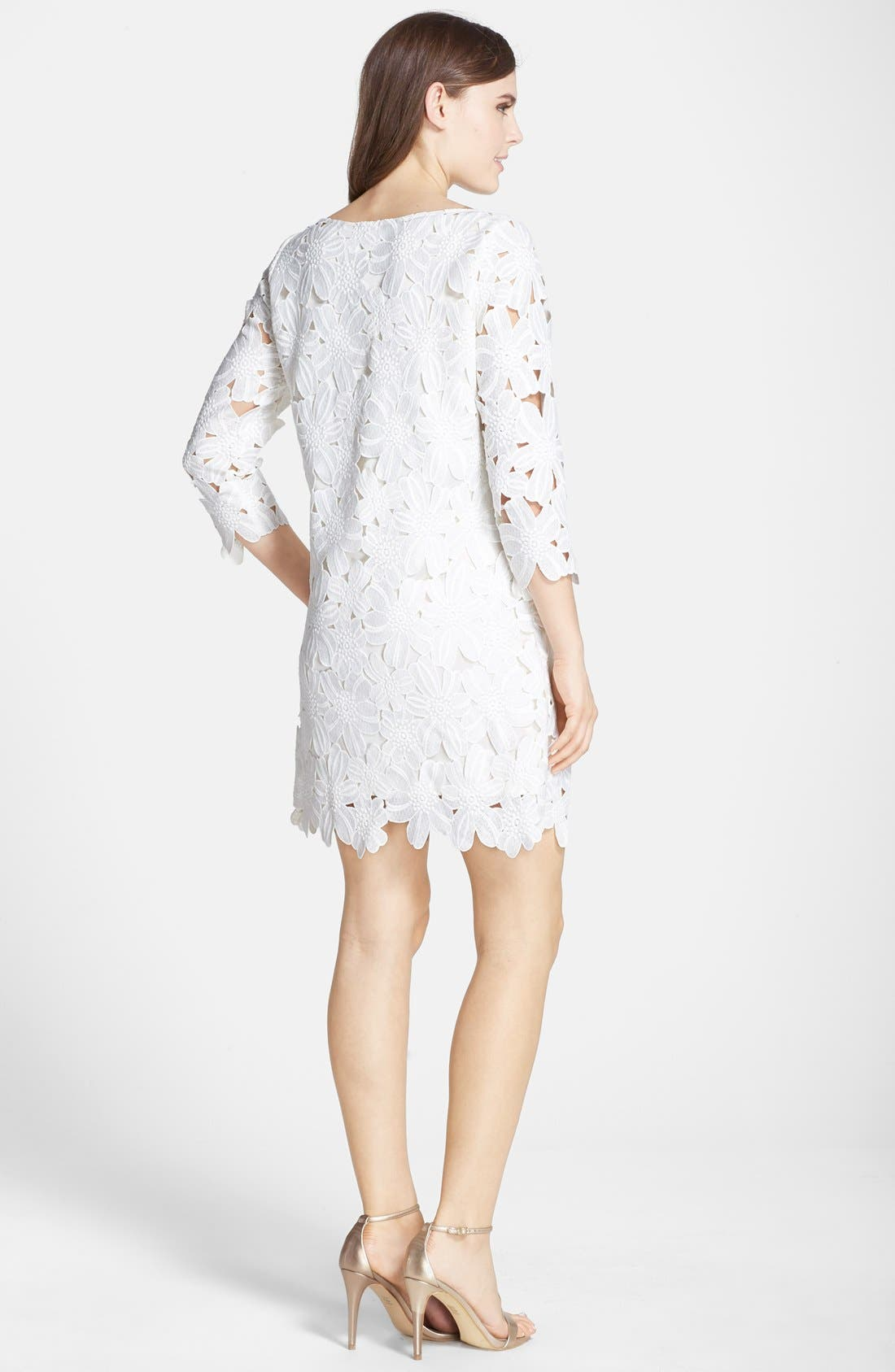 Alternate Image 2  - Felicity & Coco Belza Floral Lace Shift Dress (Nordstrom Exclusive)