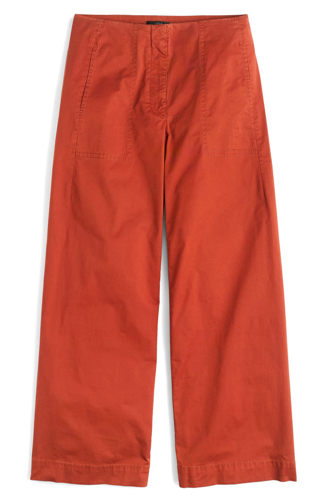 J.Crew Crop Stretch Chino Pants