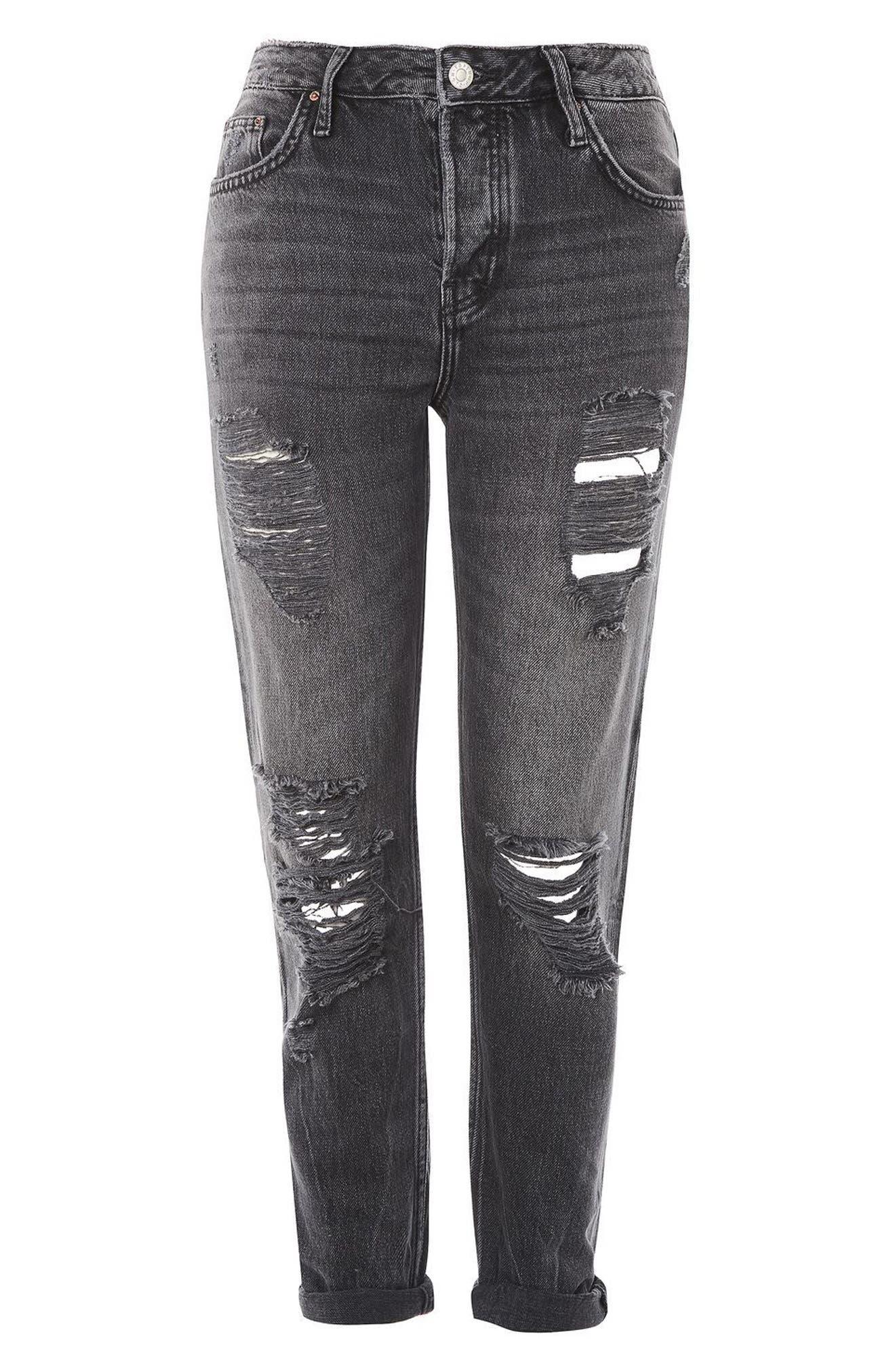 Alternate Image 5  - Topshop Hayden Super Rip Boyfriend Jeans