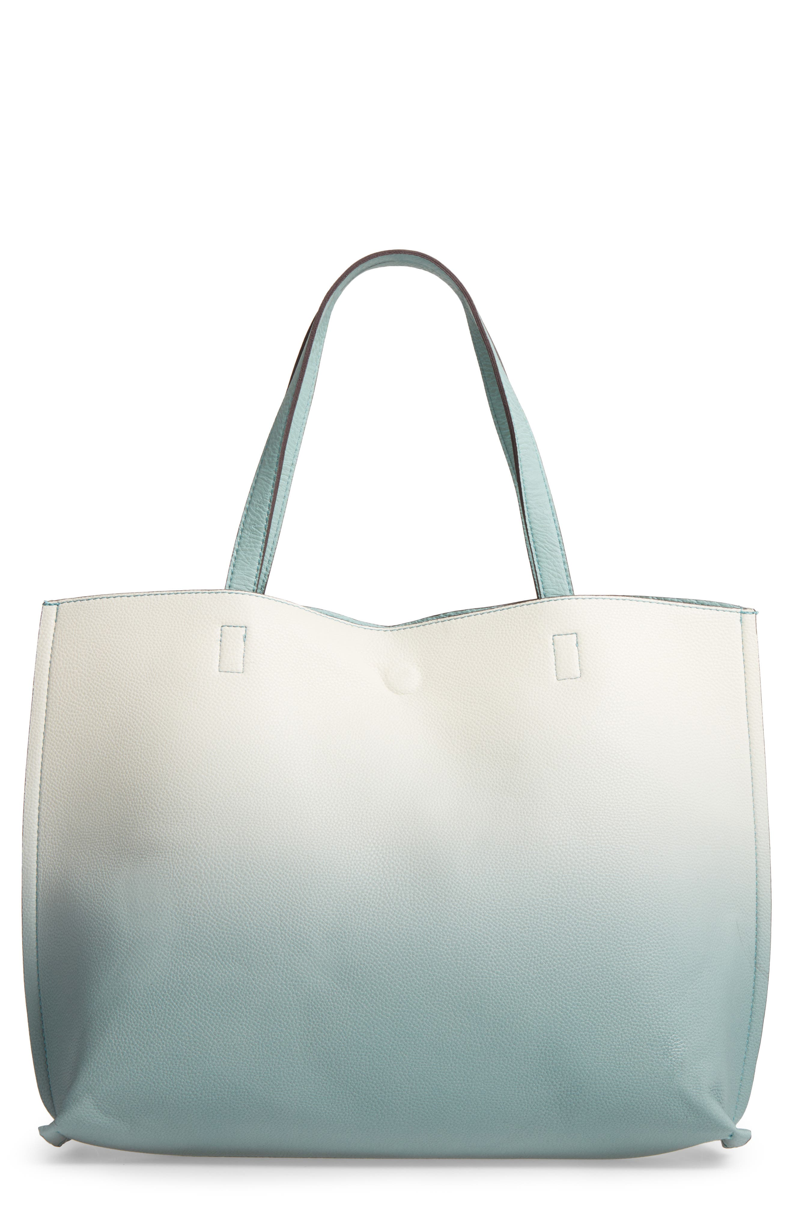 Alternate Image 1 Selected - Street Level Reversible Faux Leather Tote