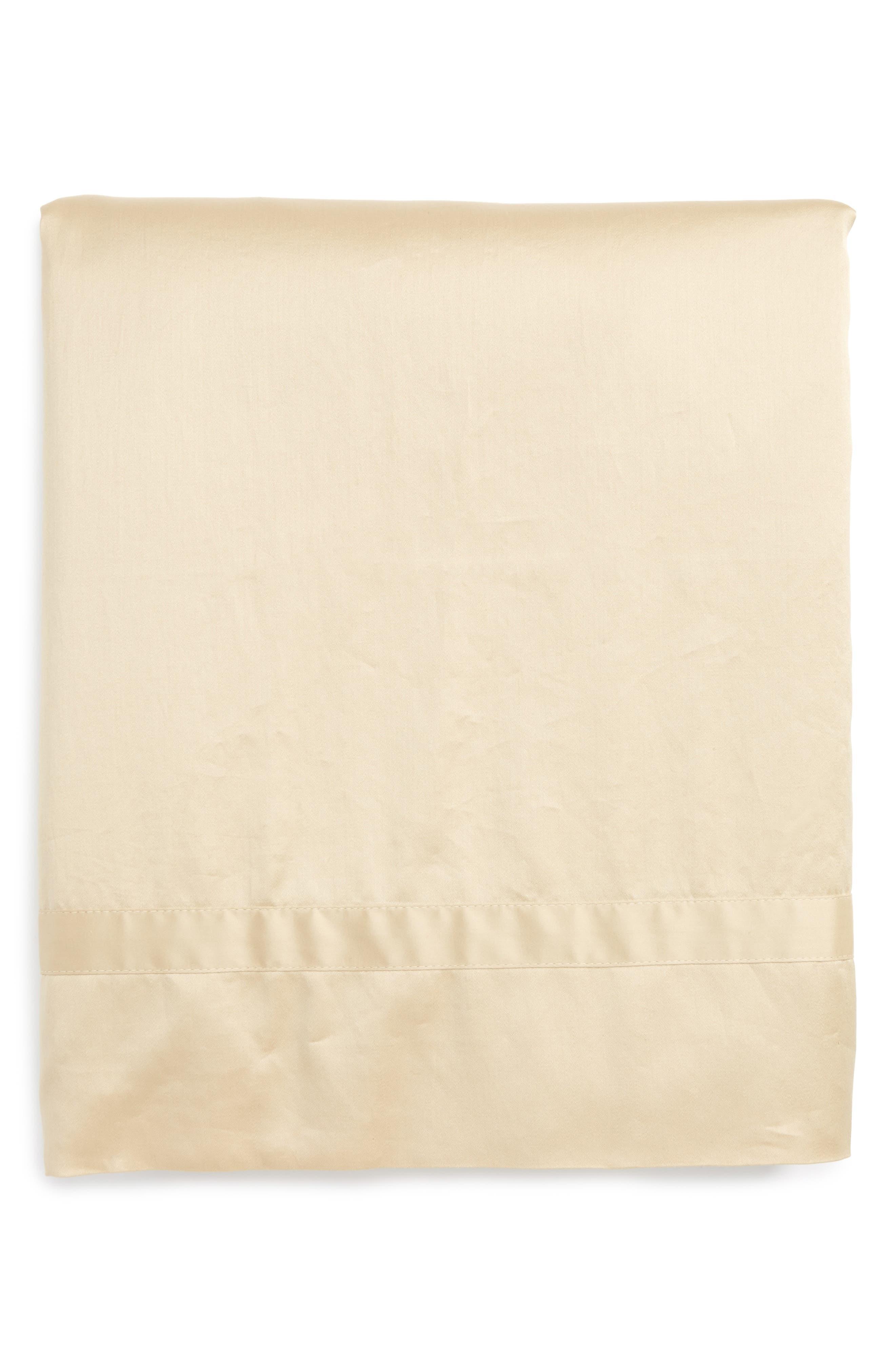 Main Image - Matouk Nocturne 600 Thread Count Flat Sheet