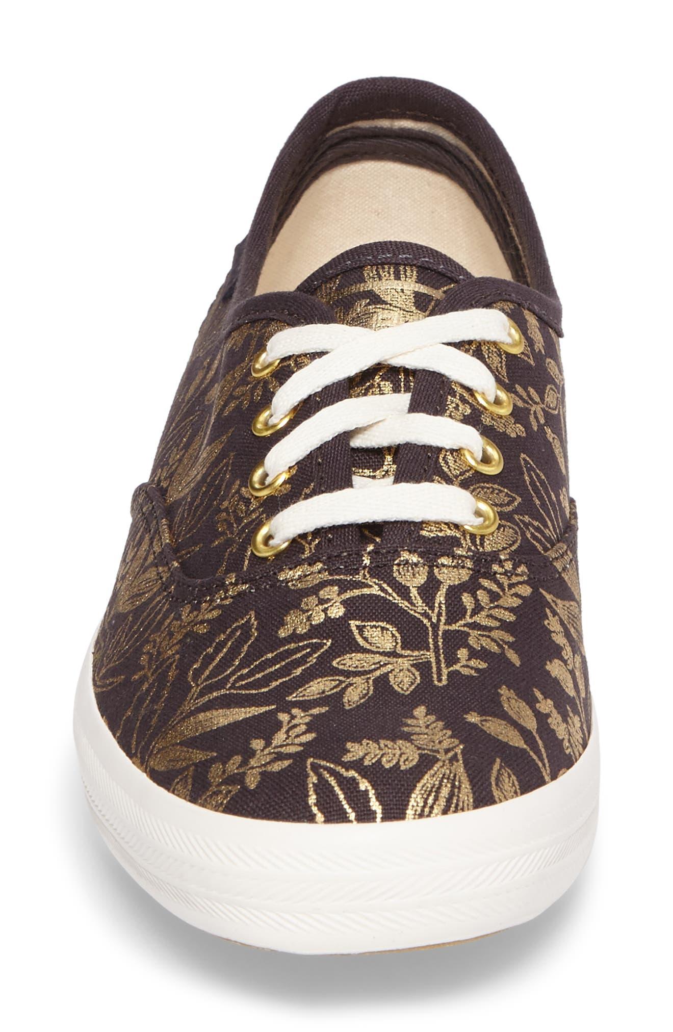 Alternate Image 4  - Keds® x Rifle Paper Co. Queen Anne Sneaker (Women)